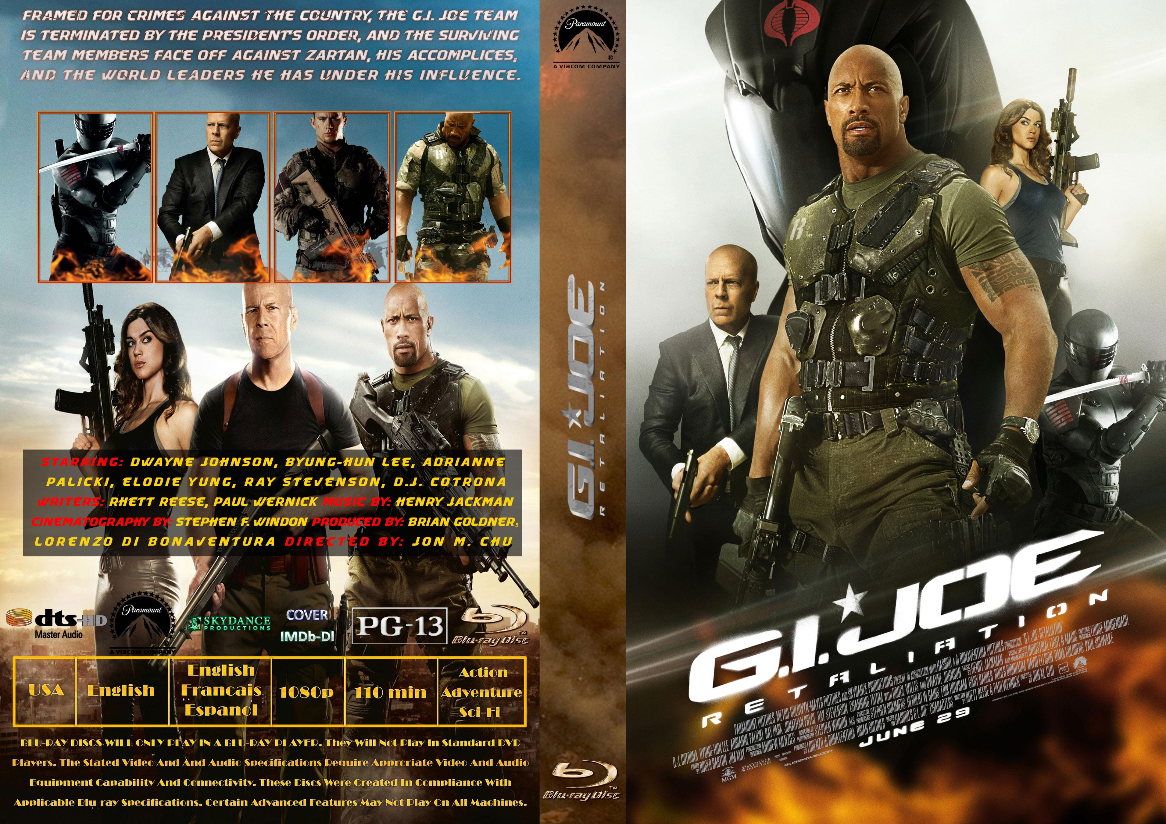 Covers Box Sk G I Joe Retaliation 2013 Imdb Dl High Quality Dvd Blueray Movie