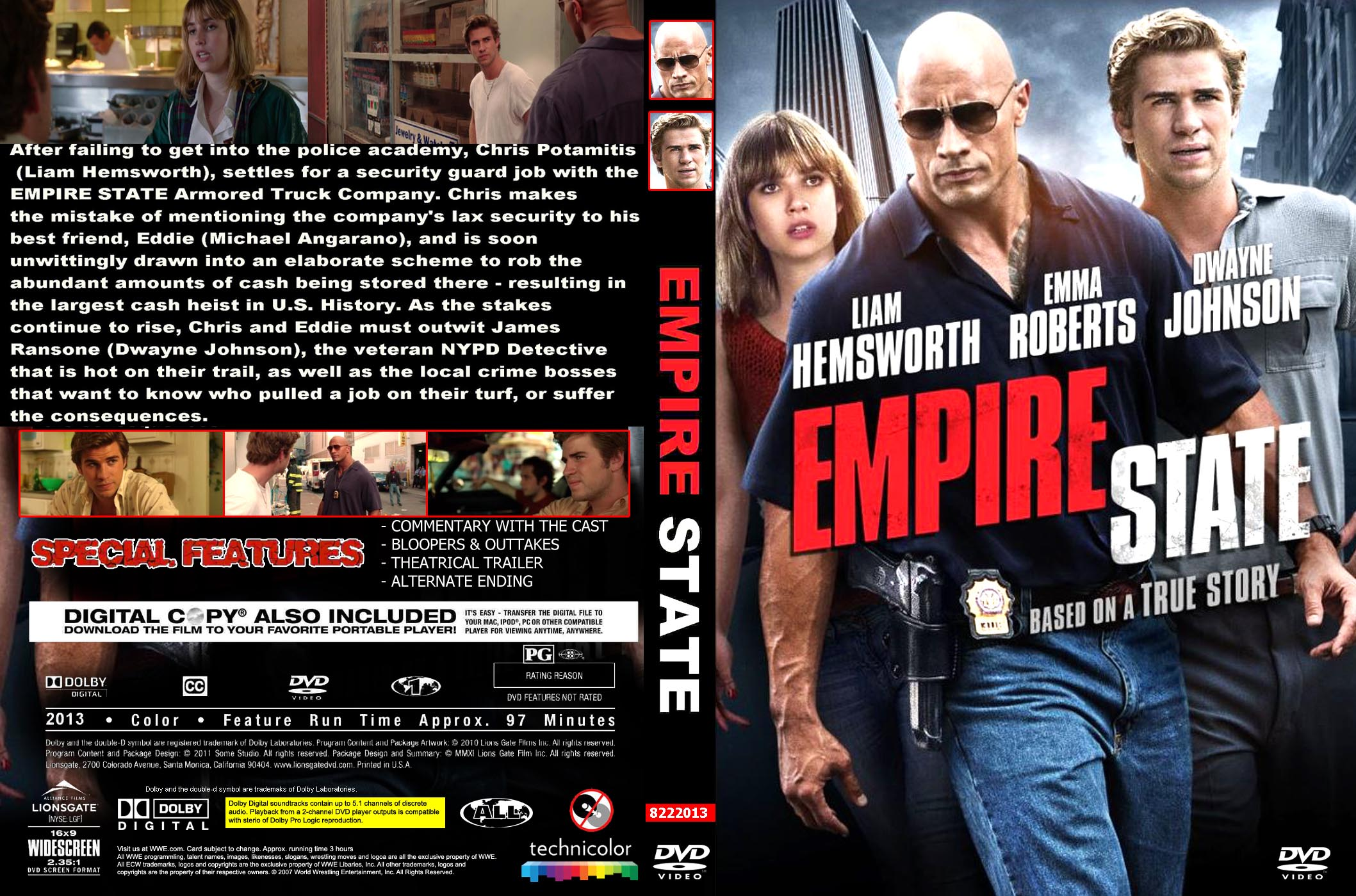 Empire State  2013  - frontEmpire State Dvd Cover