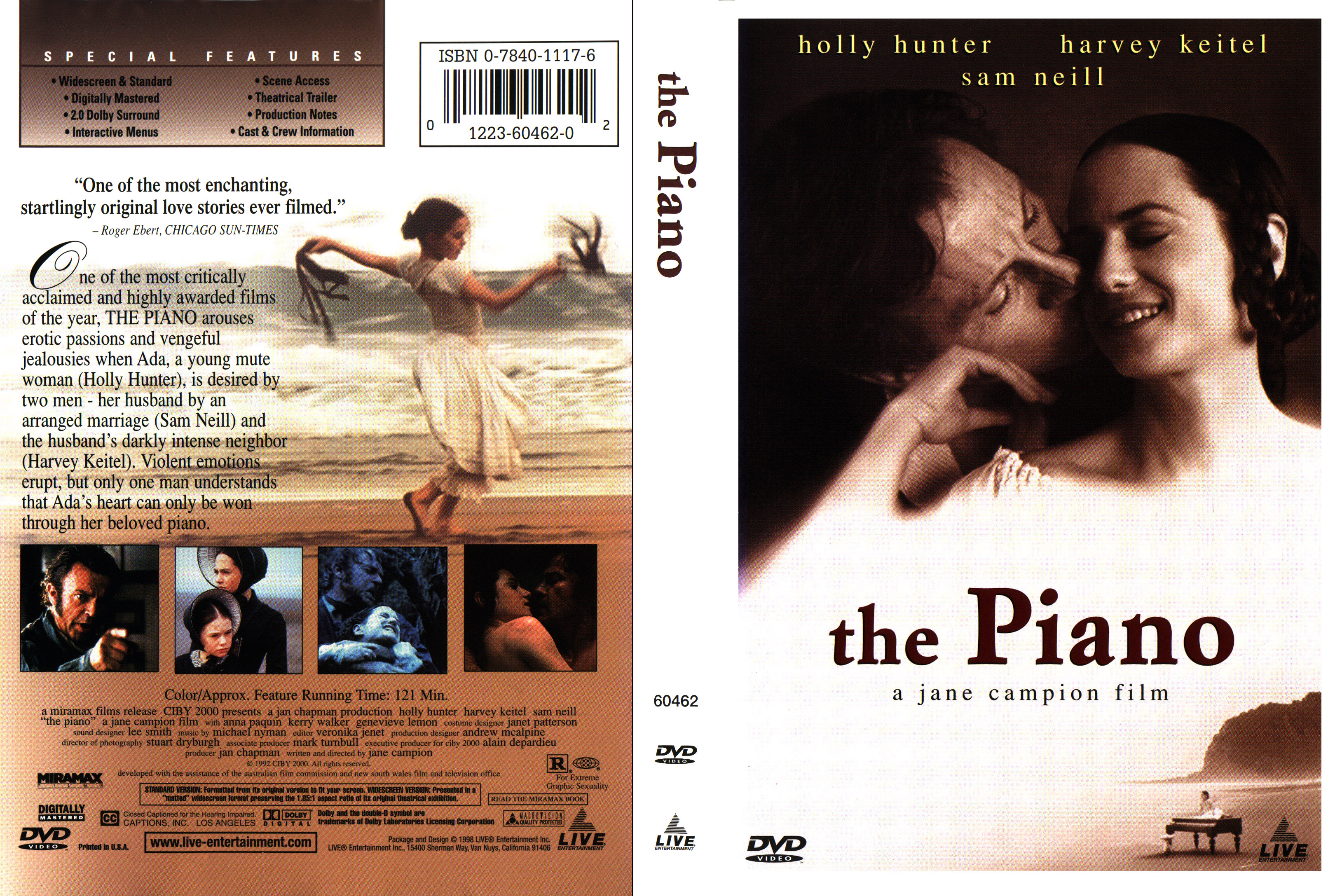 an analysis of the mise en scene elements in the piano a classic film by jane campion