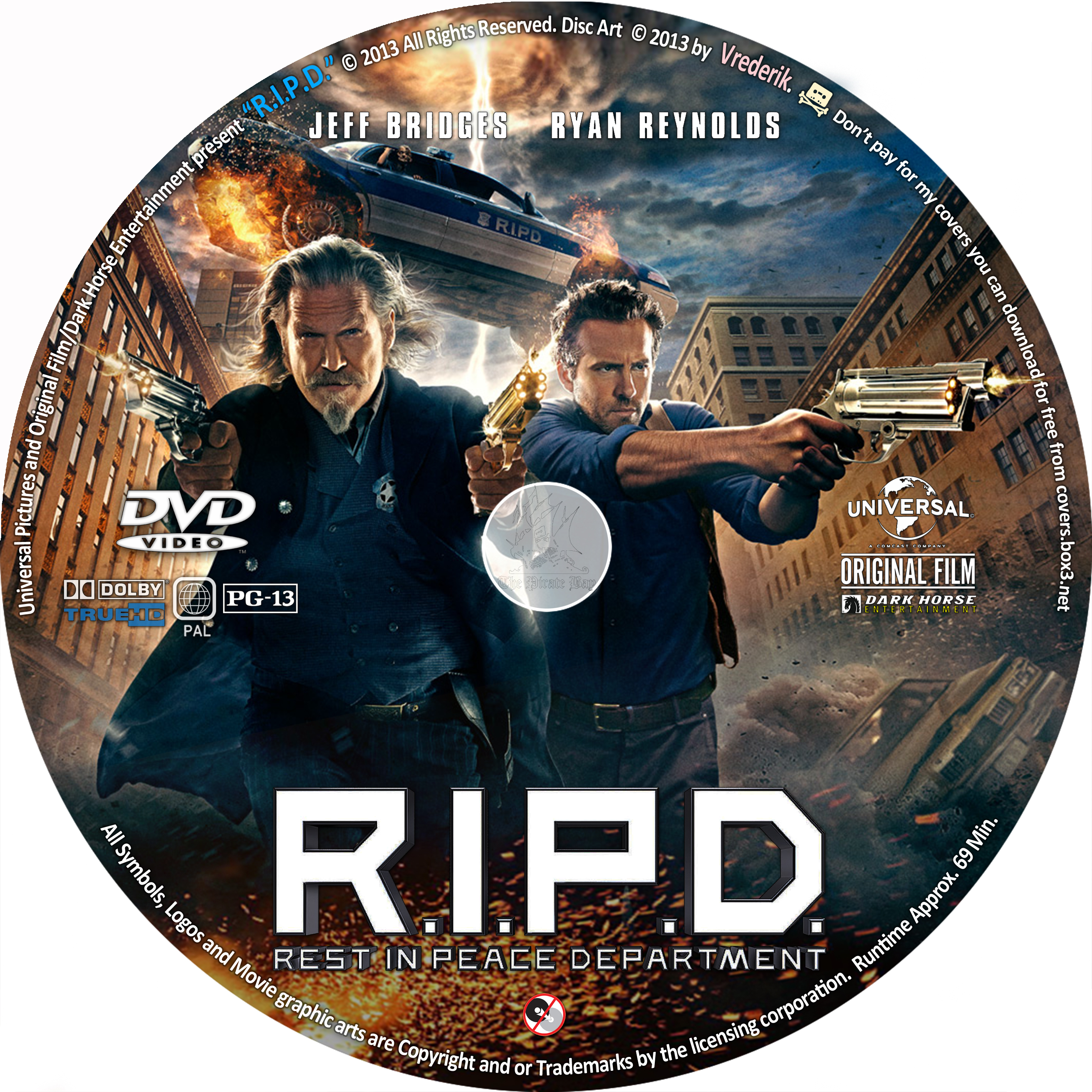 COVERS.BOX.SK ::: R.I.P.D. (2013) - high quality DVD ... R.i.p.d. Dvd