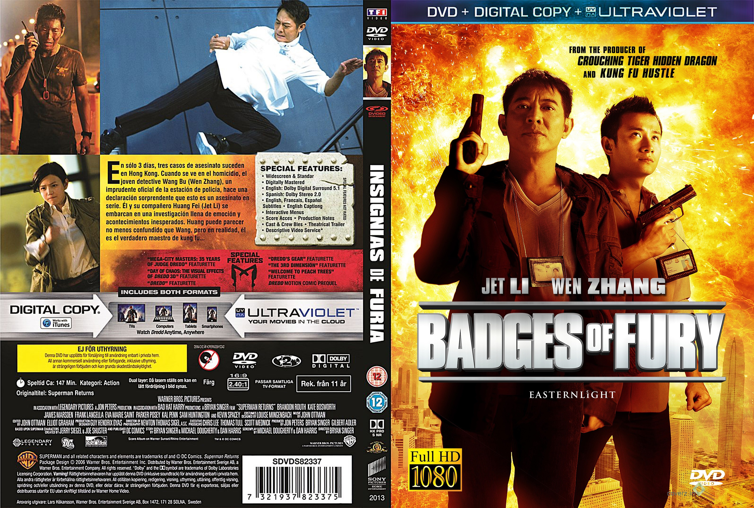 Badges of Fury - Two Cops - One Killer - No Limits Blu-ray ...
