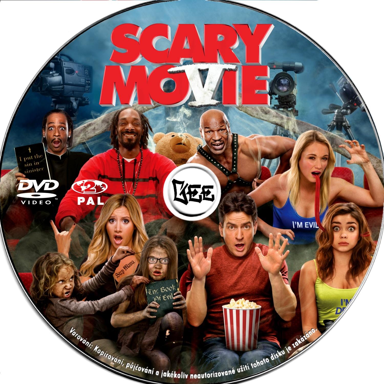Covers Box Sk Scary Movie 5 High Quality Dvd Blueray Movie