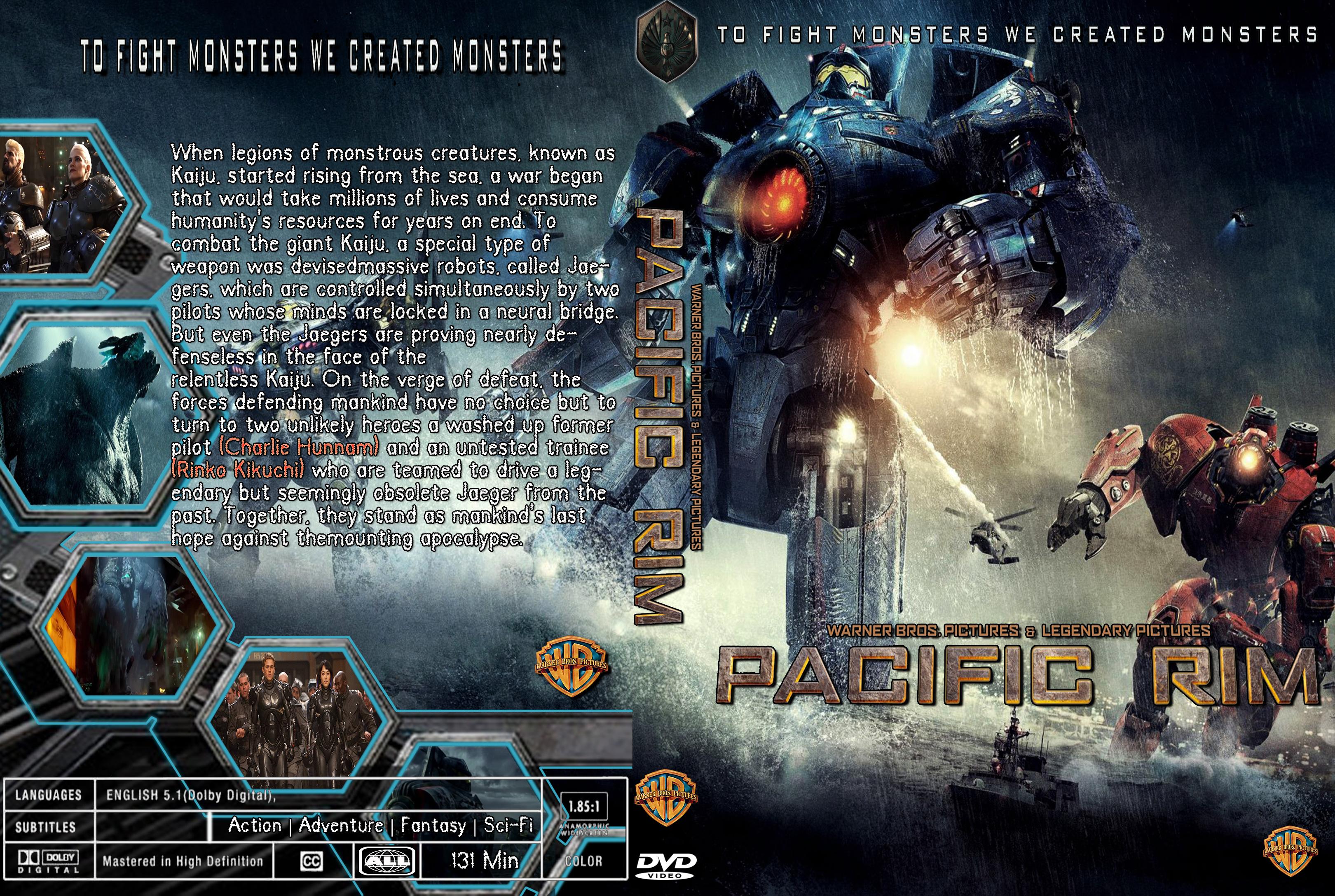 COVERS.BOX.SK ::: Pacific Rim 2013 - high quality DVD ... Pacific Rim Cover