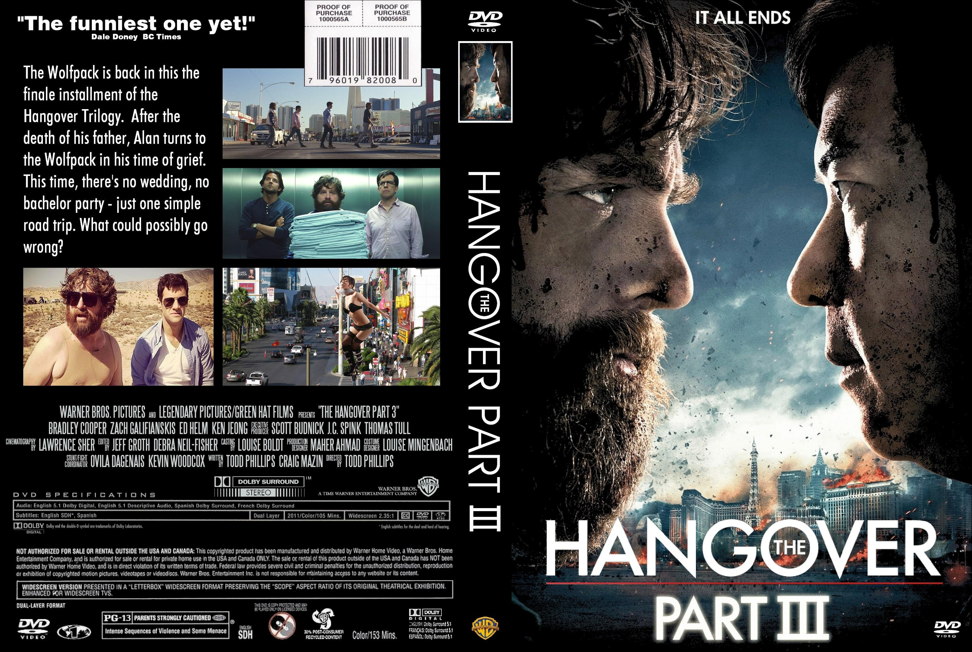 the hangover 3 dvd cover gnotes