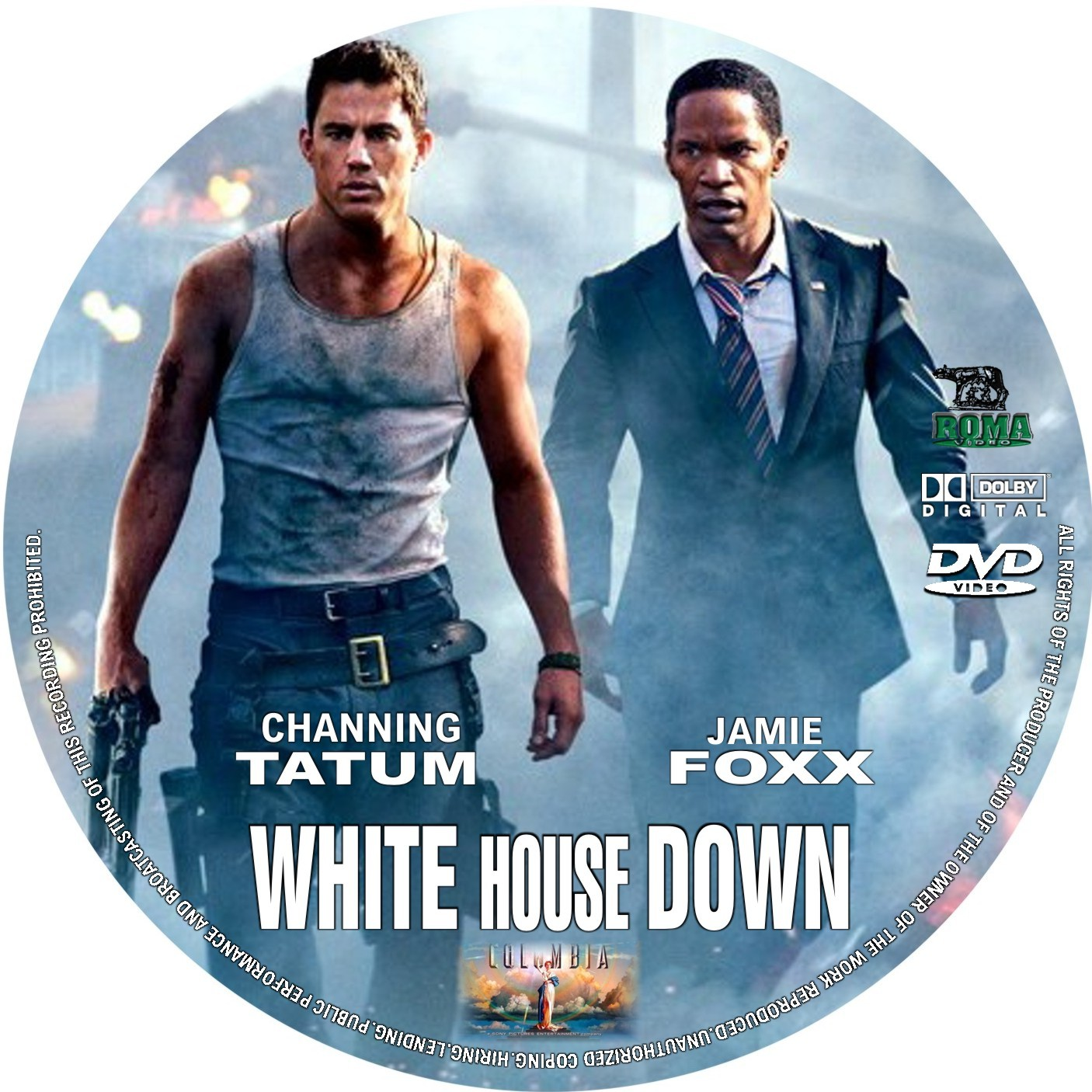 COVERSBOXSK White House Down high quality DVD