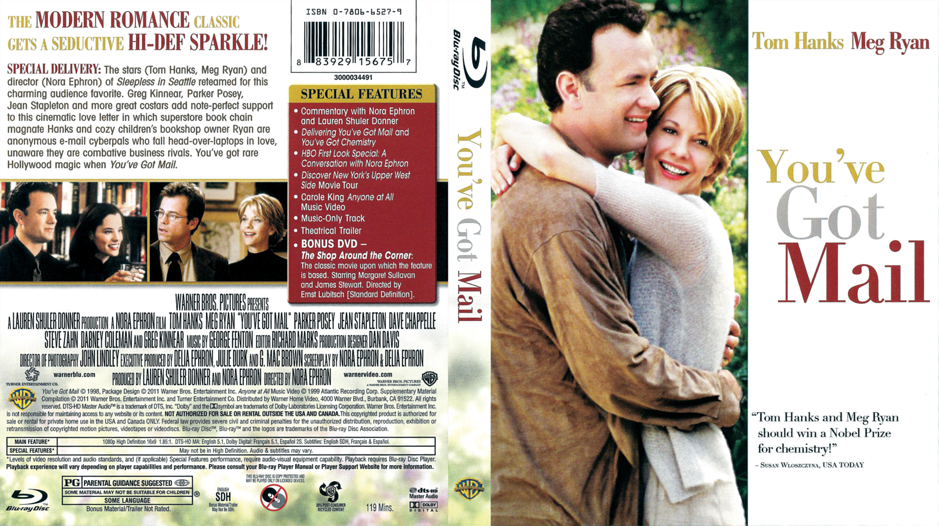 Covers Box Sk You Ve Got Mail 1998 High Quality Dvd Blueray Movie