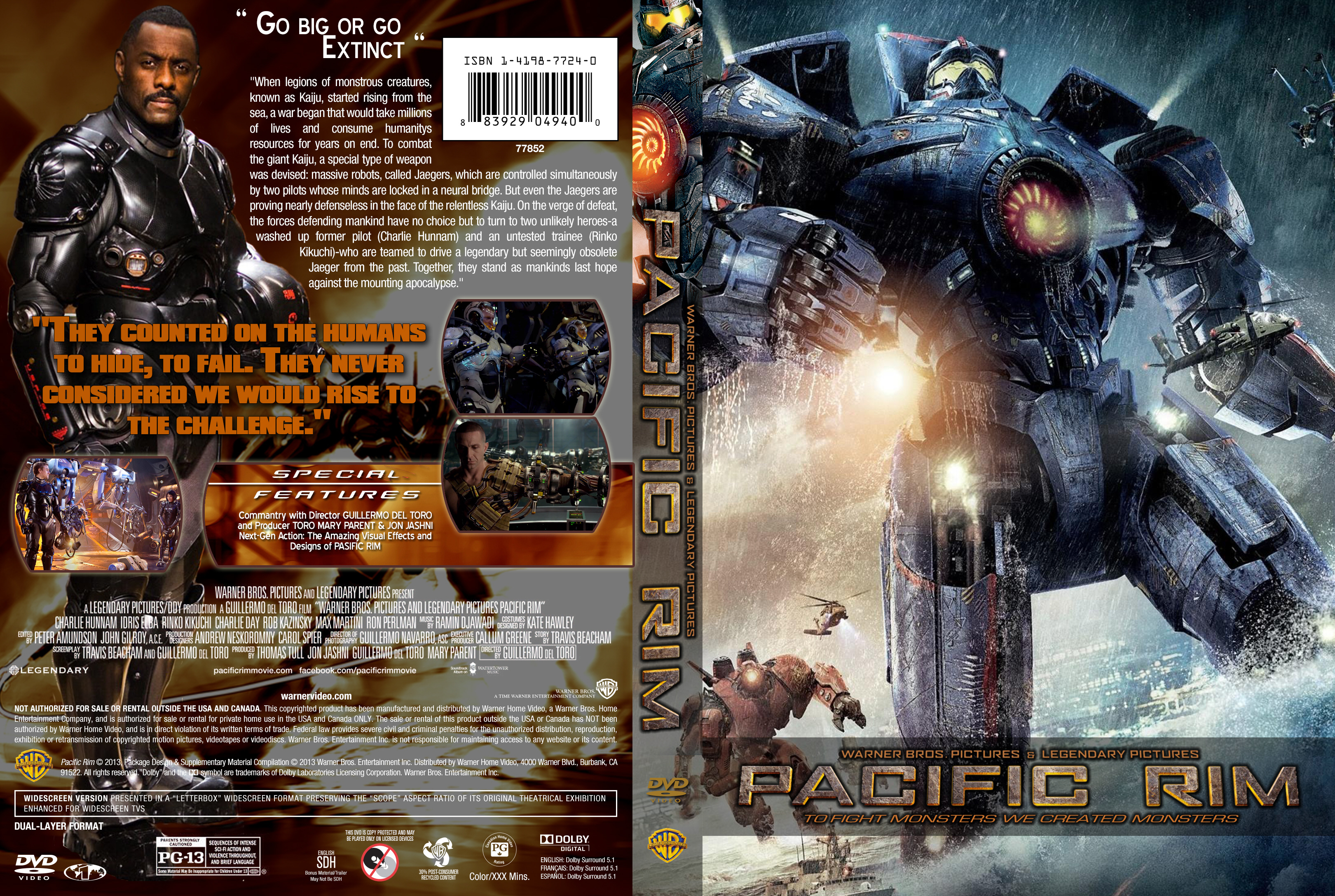 Pacific Rim Blu Ray Cover | www.imgkid.com - The Image Kid ... Pacific Rim 2013 Dvd Cover