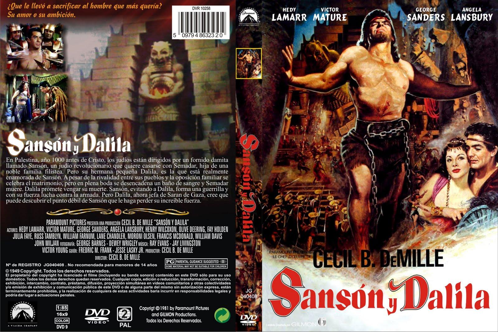 Samson and Delilah 1949 DVD Covers Com