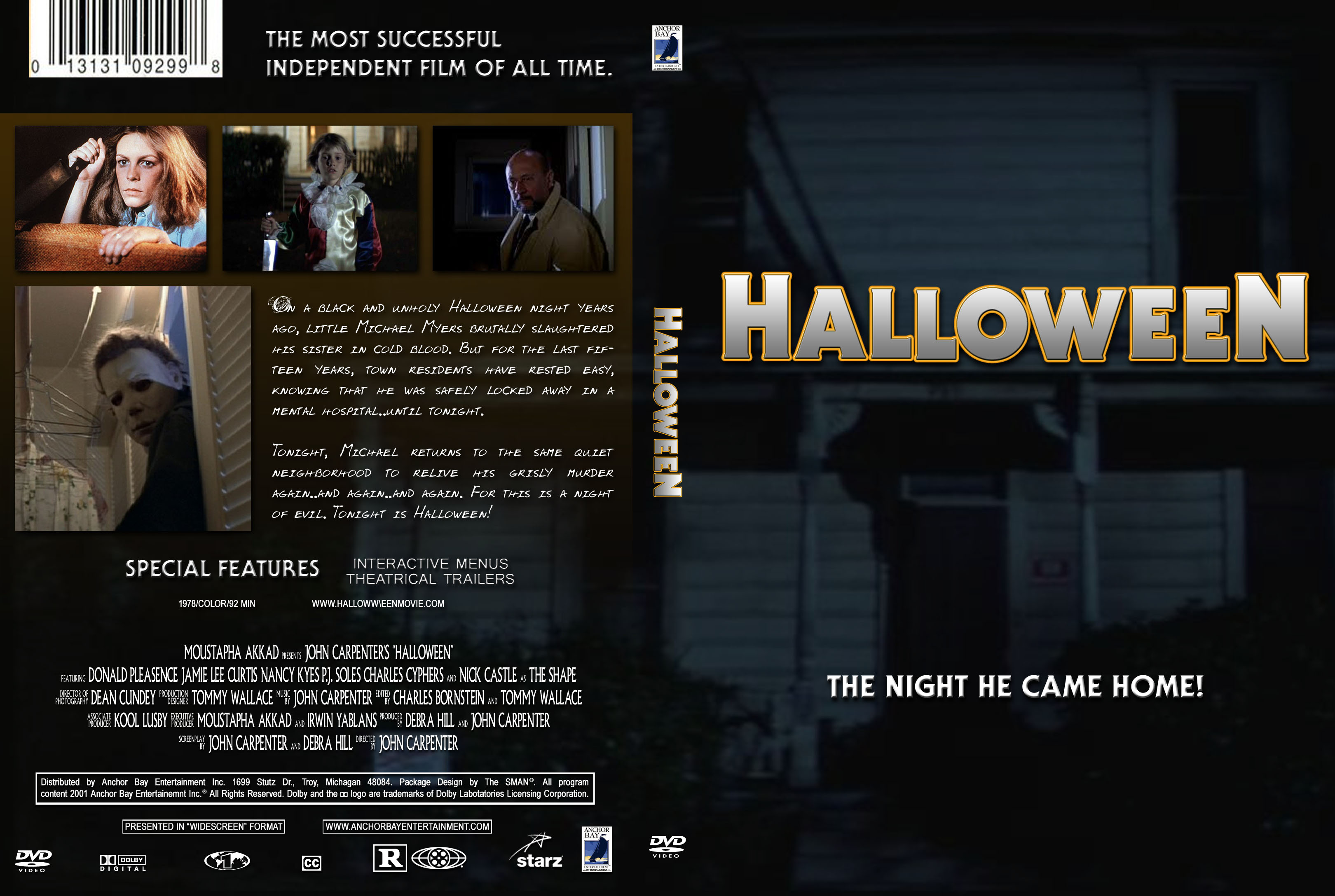 COVERS.BOX.SK ::: Halloween 1978 - high quality DVD / Blueray / Movie