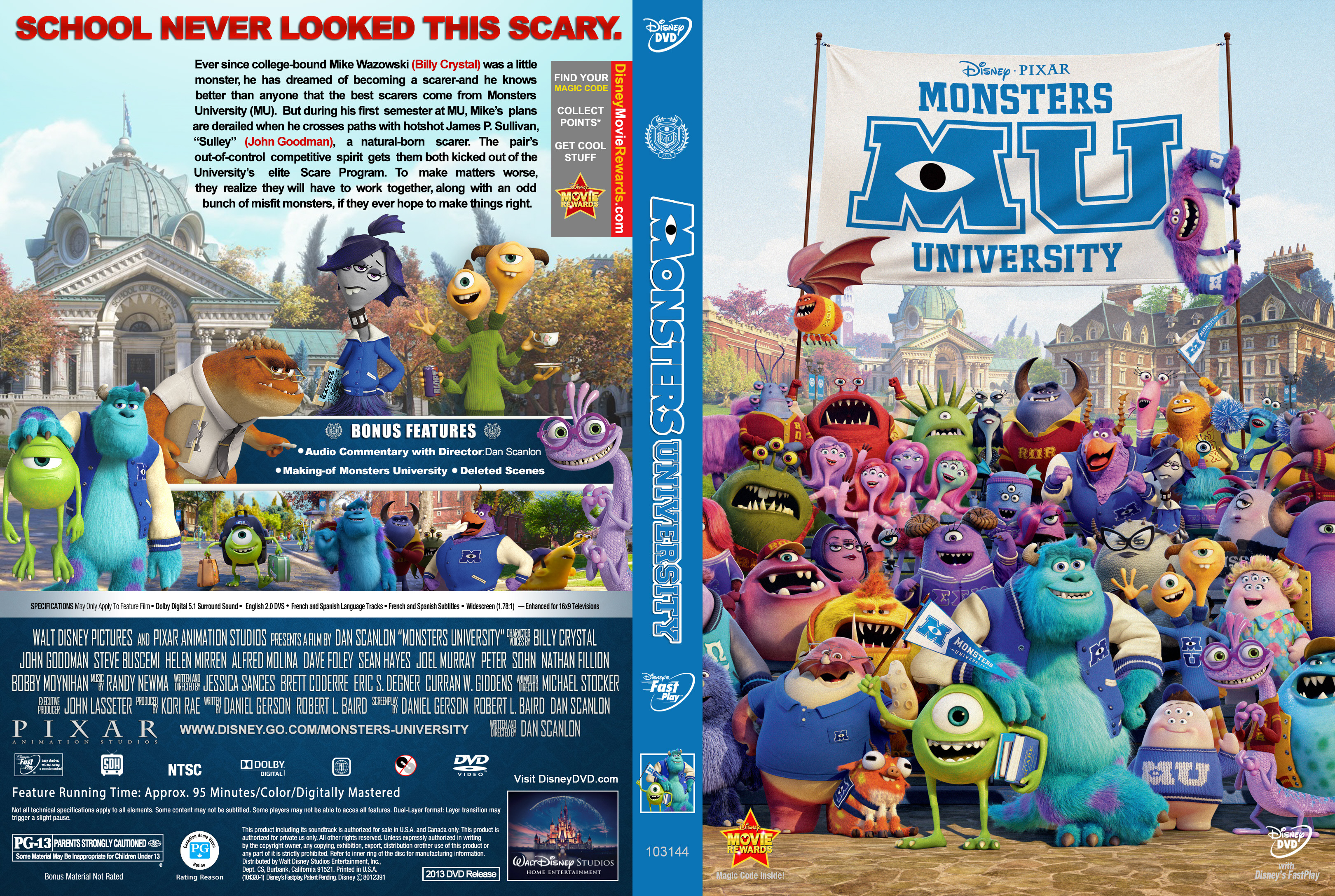 Monsters university ШіЩѓШі fucked scenes