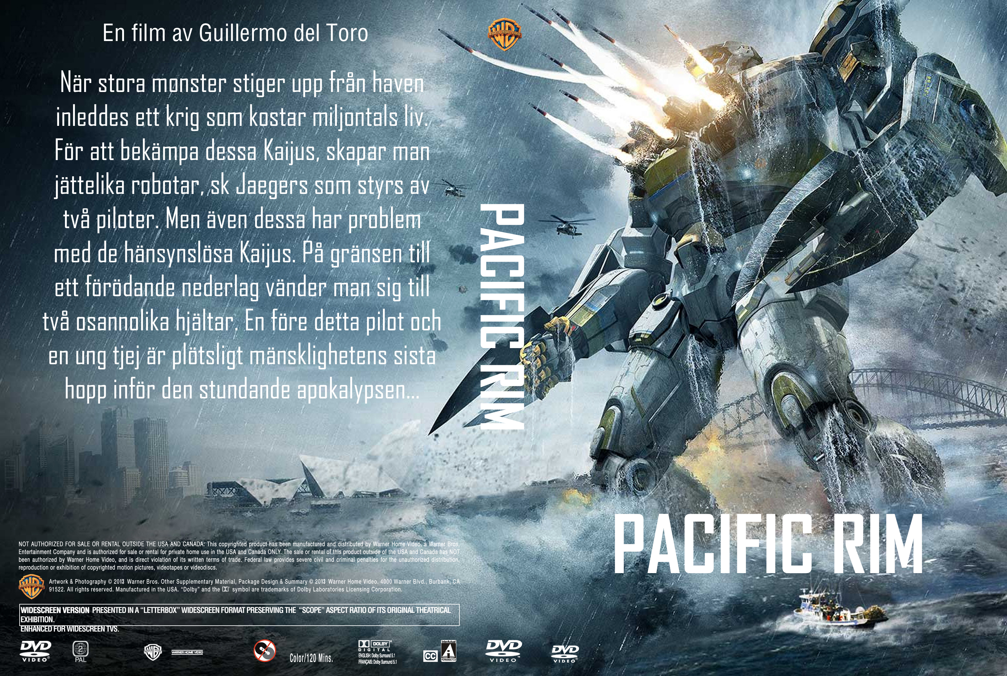 COVERS.BOX.SK ::: pacific rim 2013 - high quality DVD ... Pacific Rim 2013 Dvd Cover