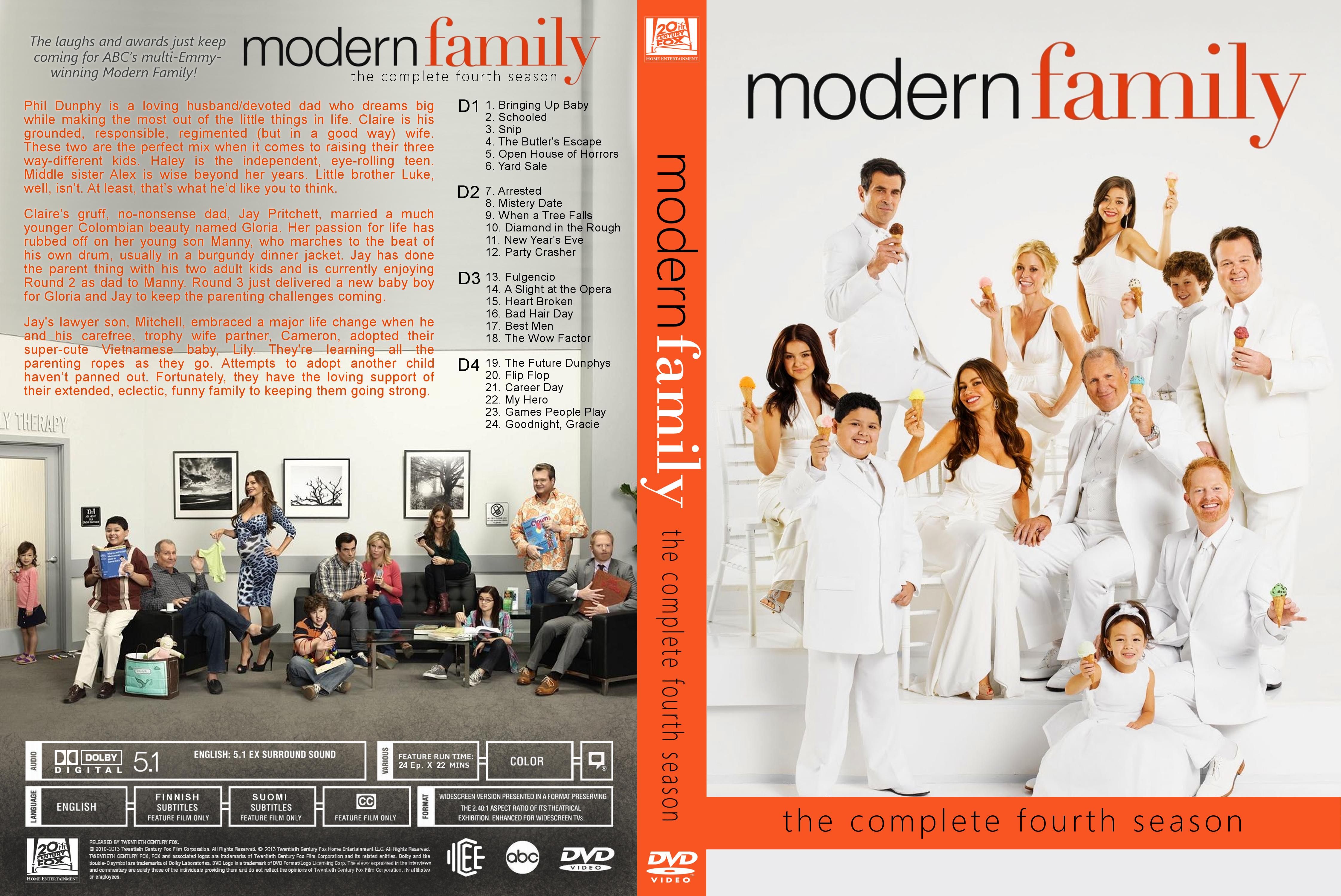 COVERS BOX SK ::: Modern Family (TV Series 2009) - high