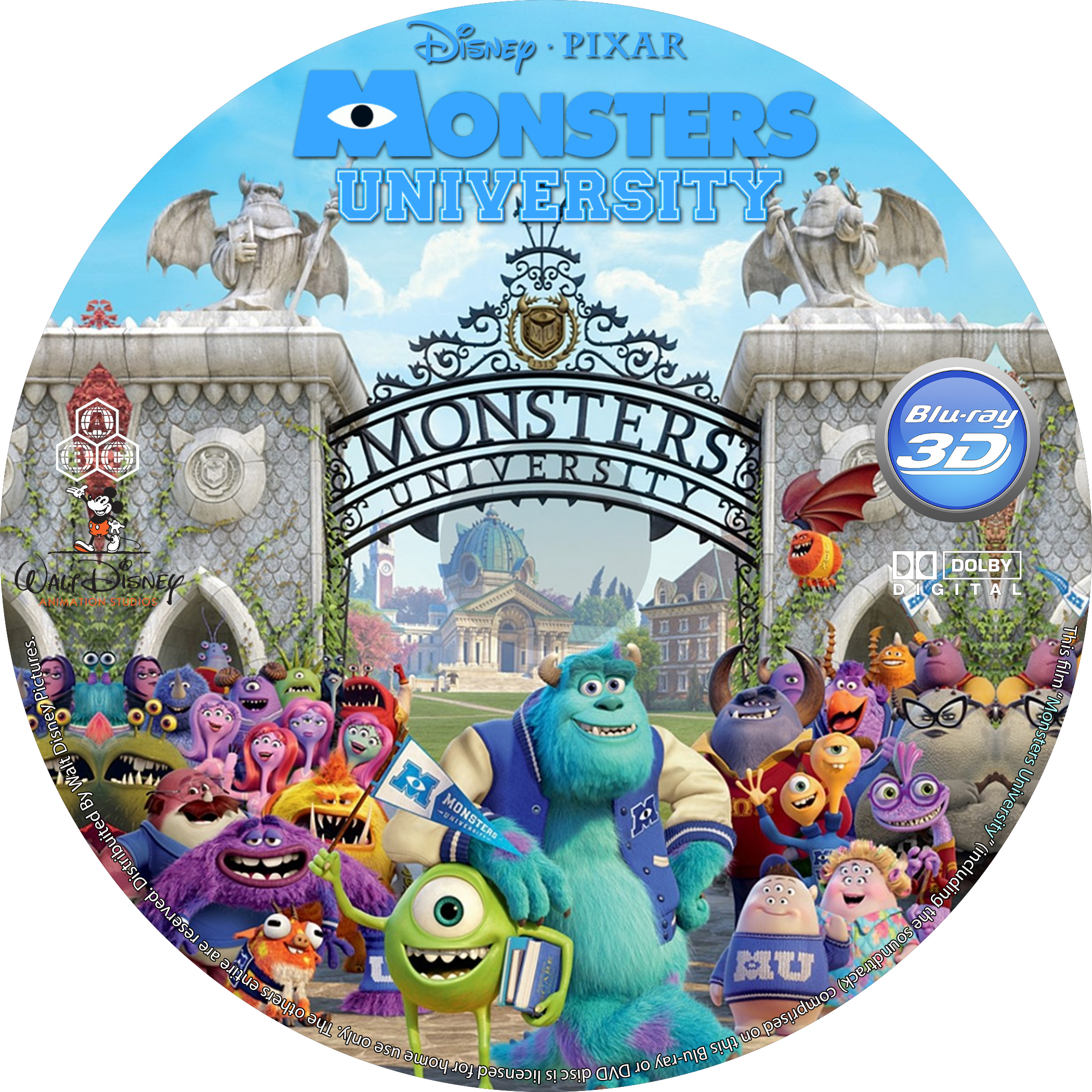 COVERS.BOX.SK ::: monsters university (2013) - high ...