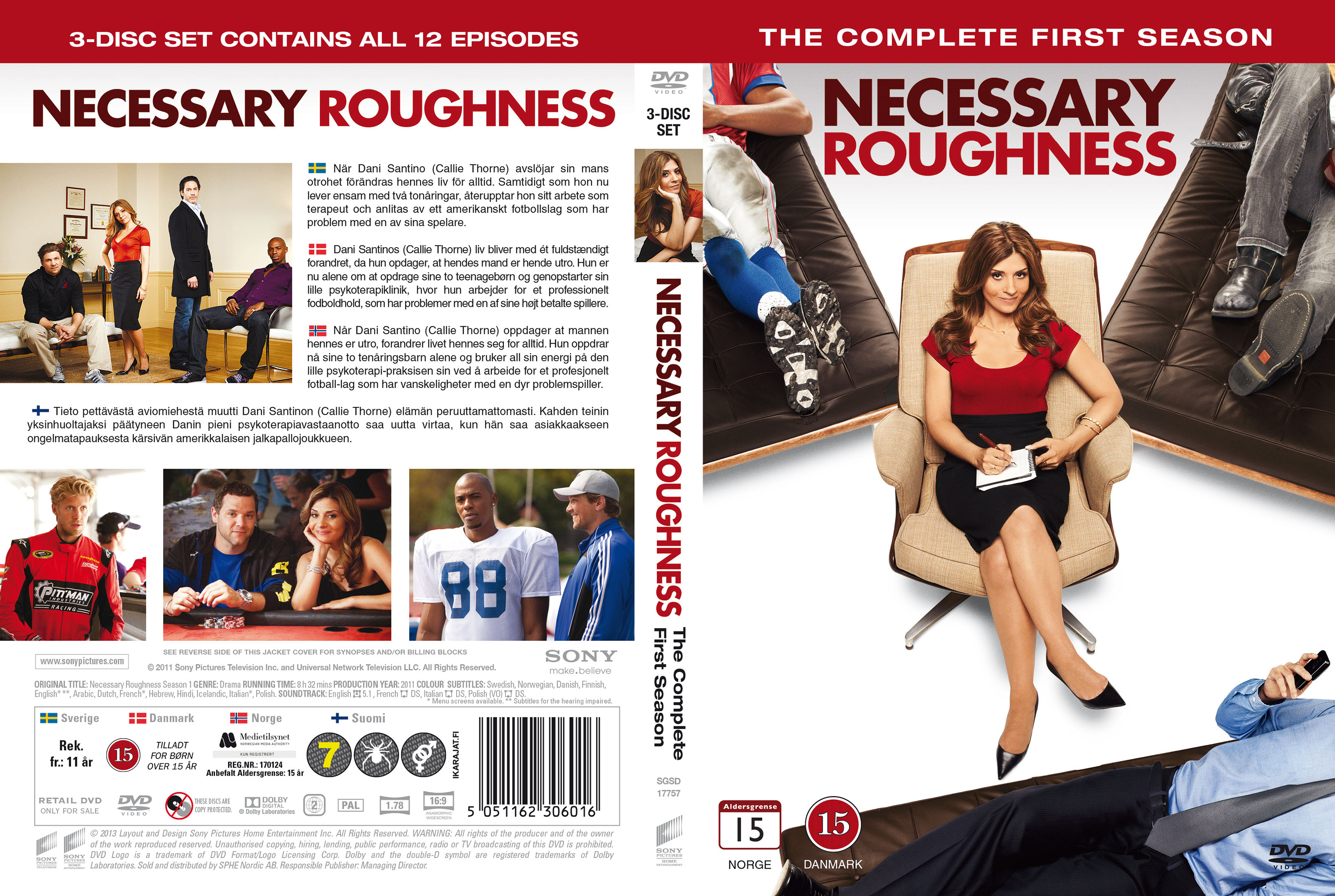 """necessary roughness I've seen versions of the plot of """"necessary roughness"""" in almost every other movie ever made about an underdog sports team - but i fell for it again this time, because it was well done, and because the movie doesn't try to pump itself up into more than it is, a good-humored entertainment."""