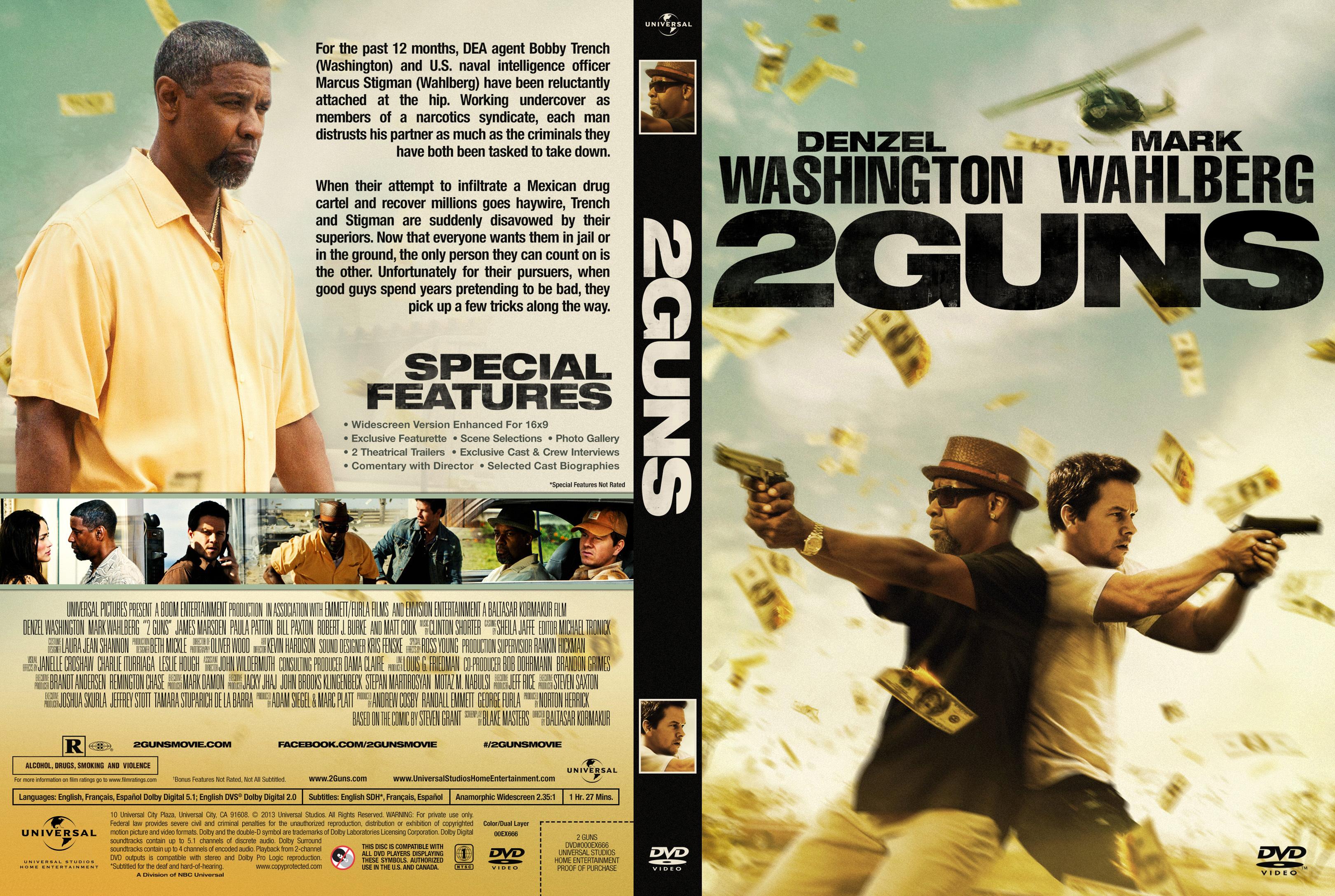 COVERS.BOX.SK 2 Guns Blu Ray Cover