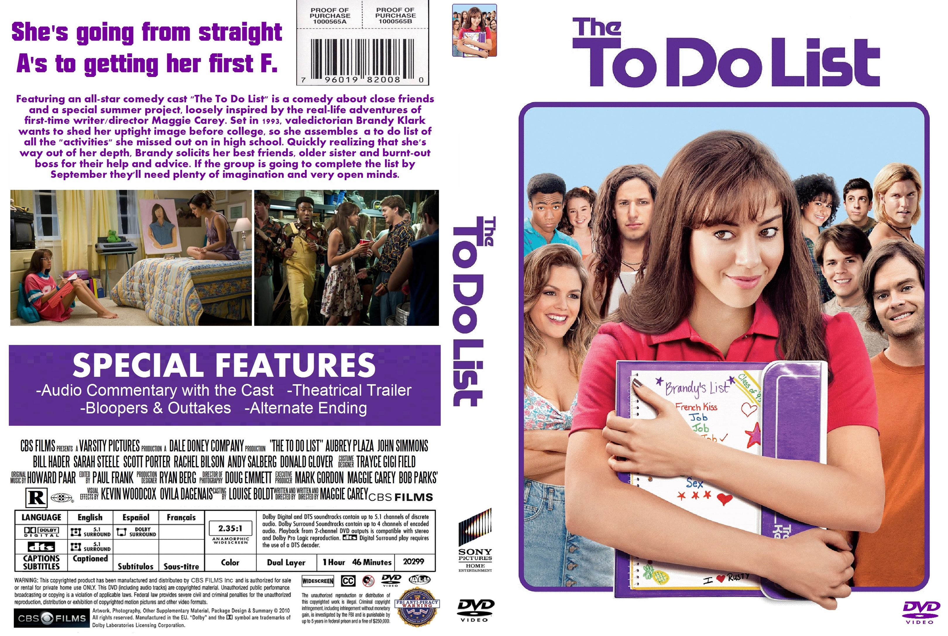covers.box.sk ::: the to do list - high quality dvd / blueray / movie