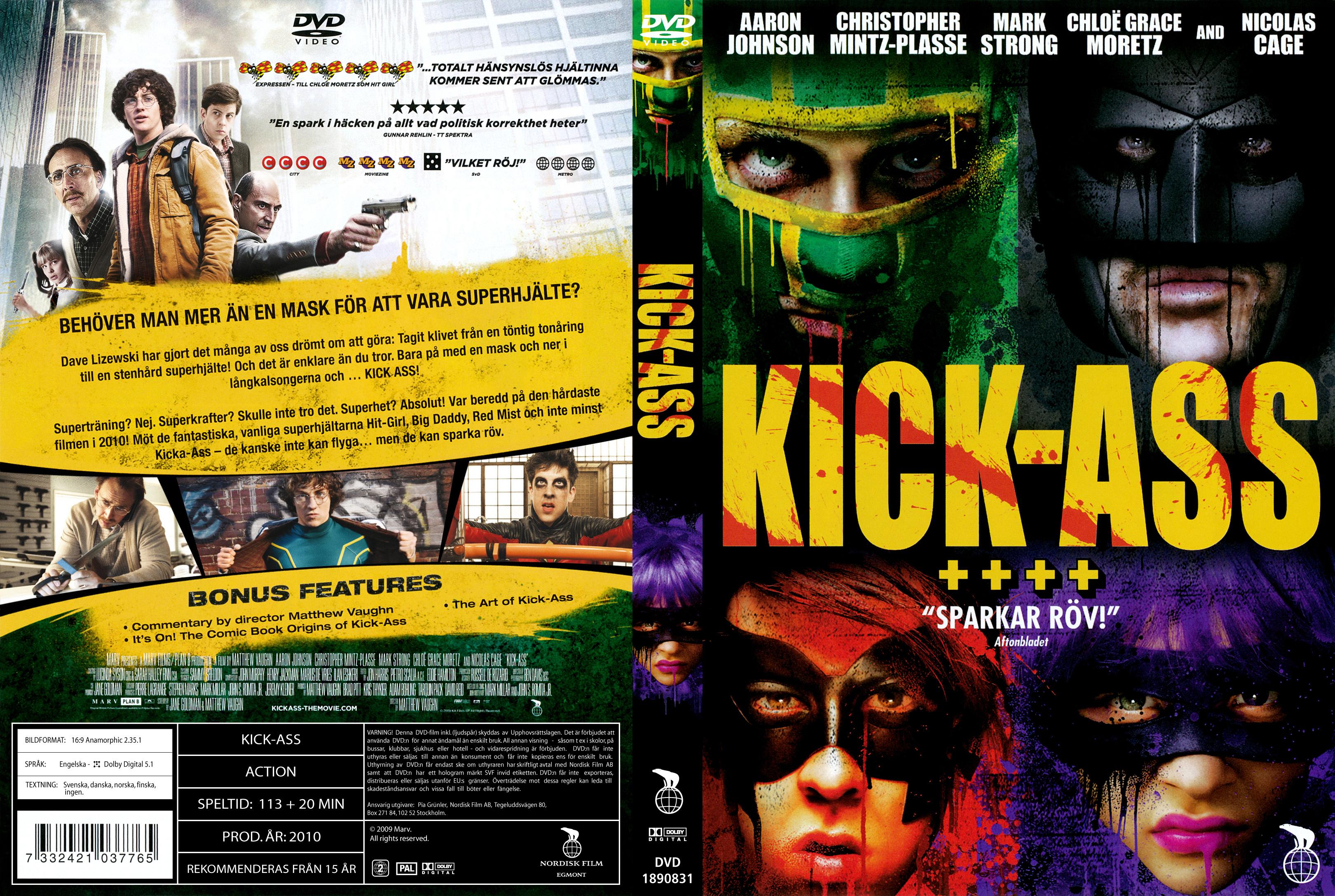 Kick Ass Dvd 117