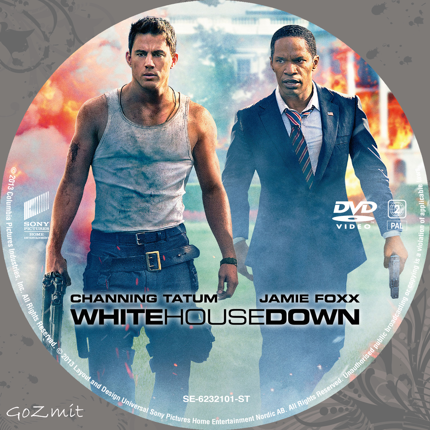 House Down Dvd Cover