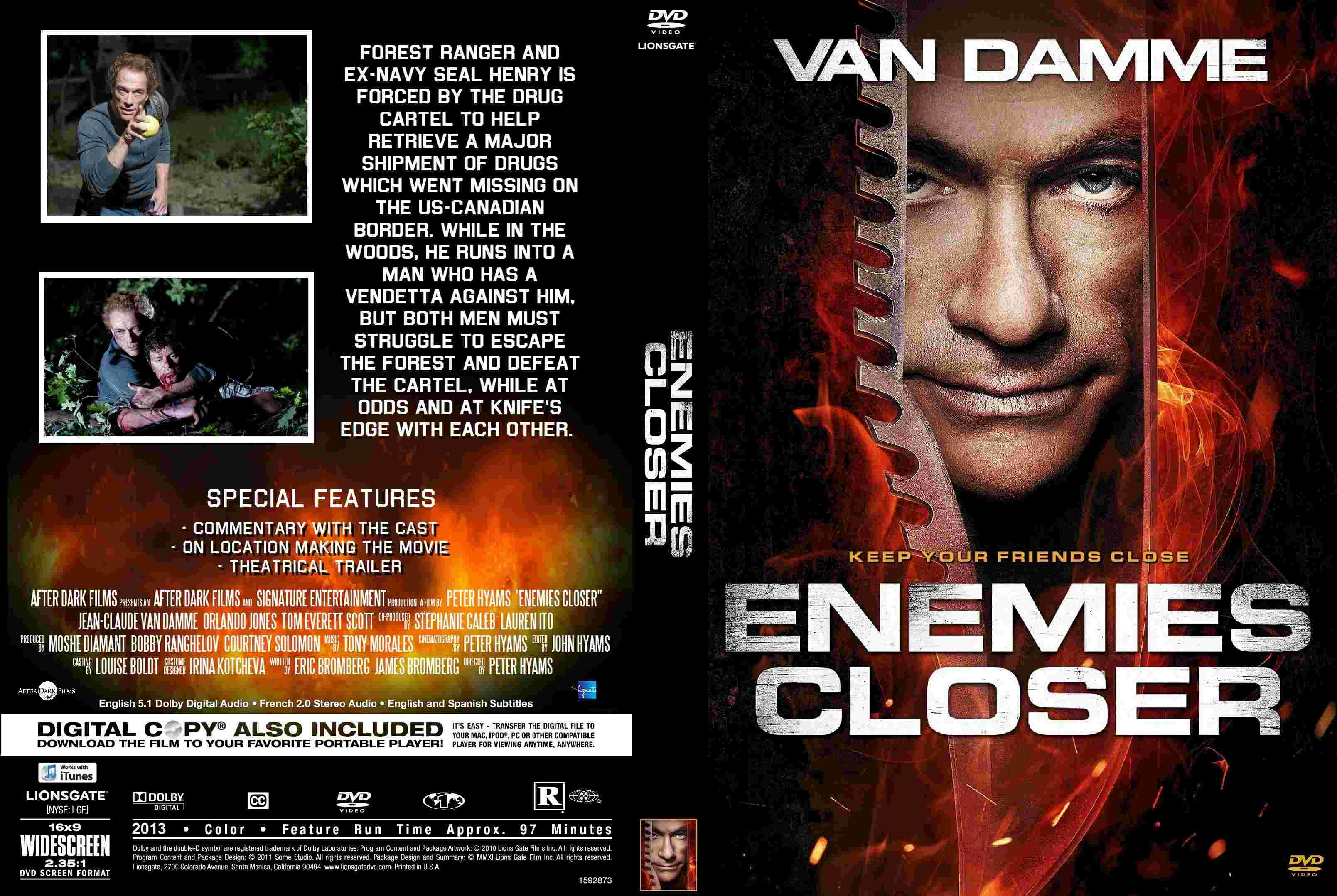 COVERS.BOX.SK ::: Enemies Closer - high quality DVD / Blueray / Movie