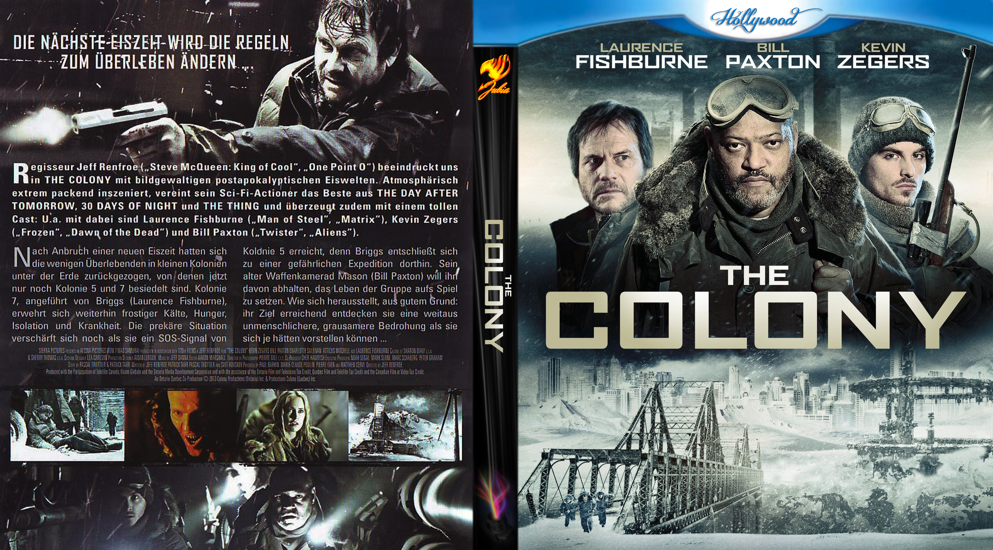 COVERS BOX SK ::: The Colony - high quality DVD / Blueray
