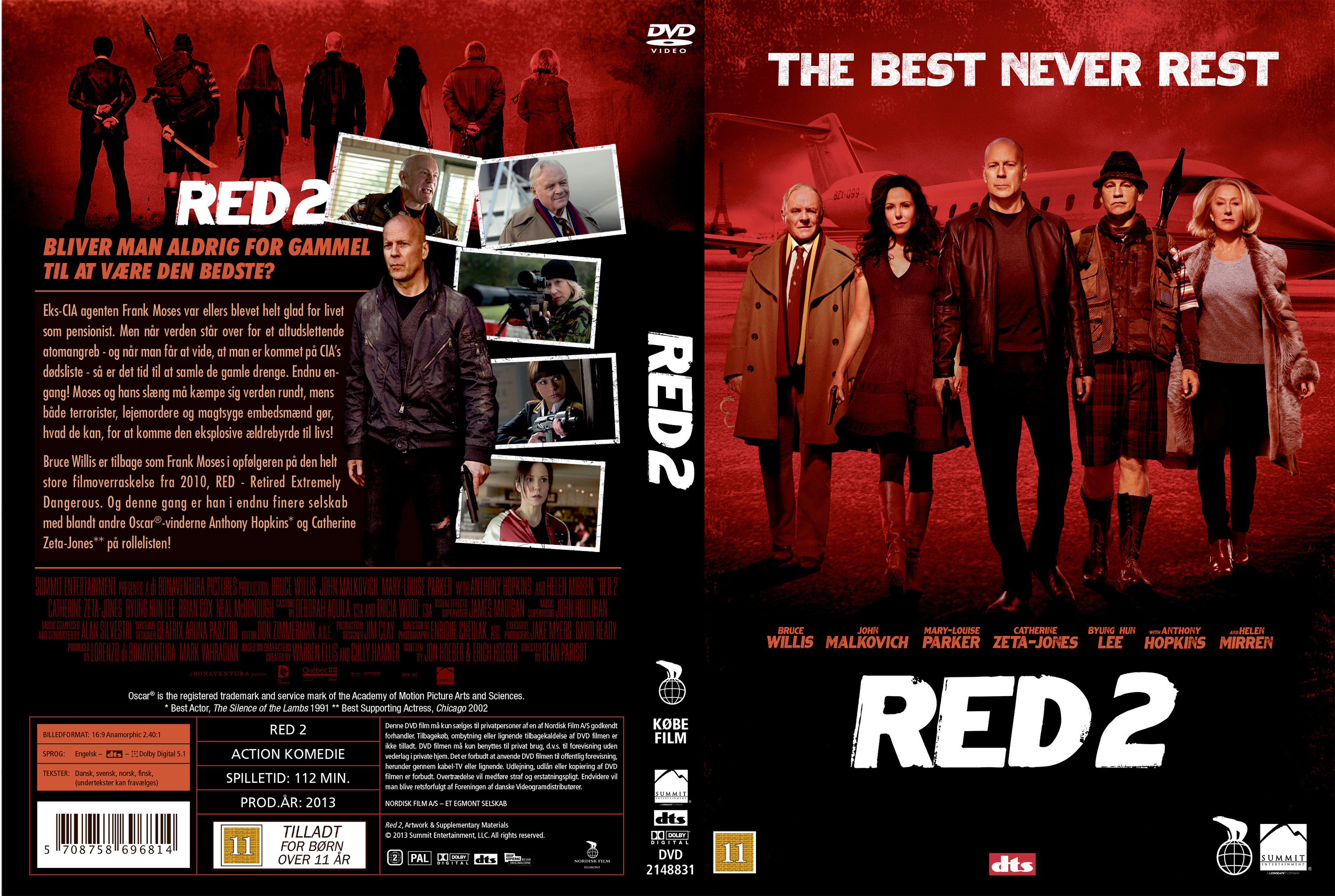 The gallery for --> Red 2 Dvd Cover