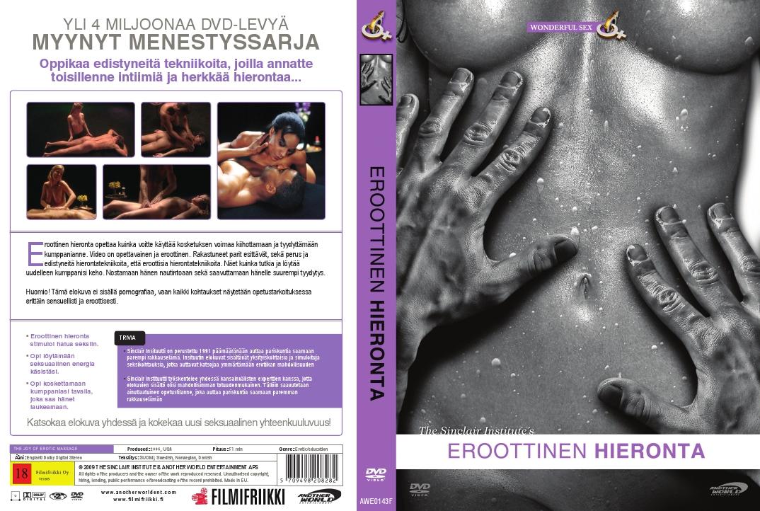 dvd hieronta eroottinen