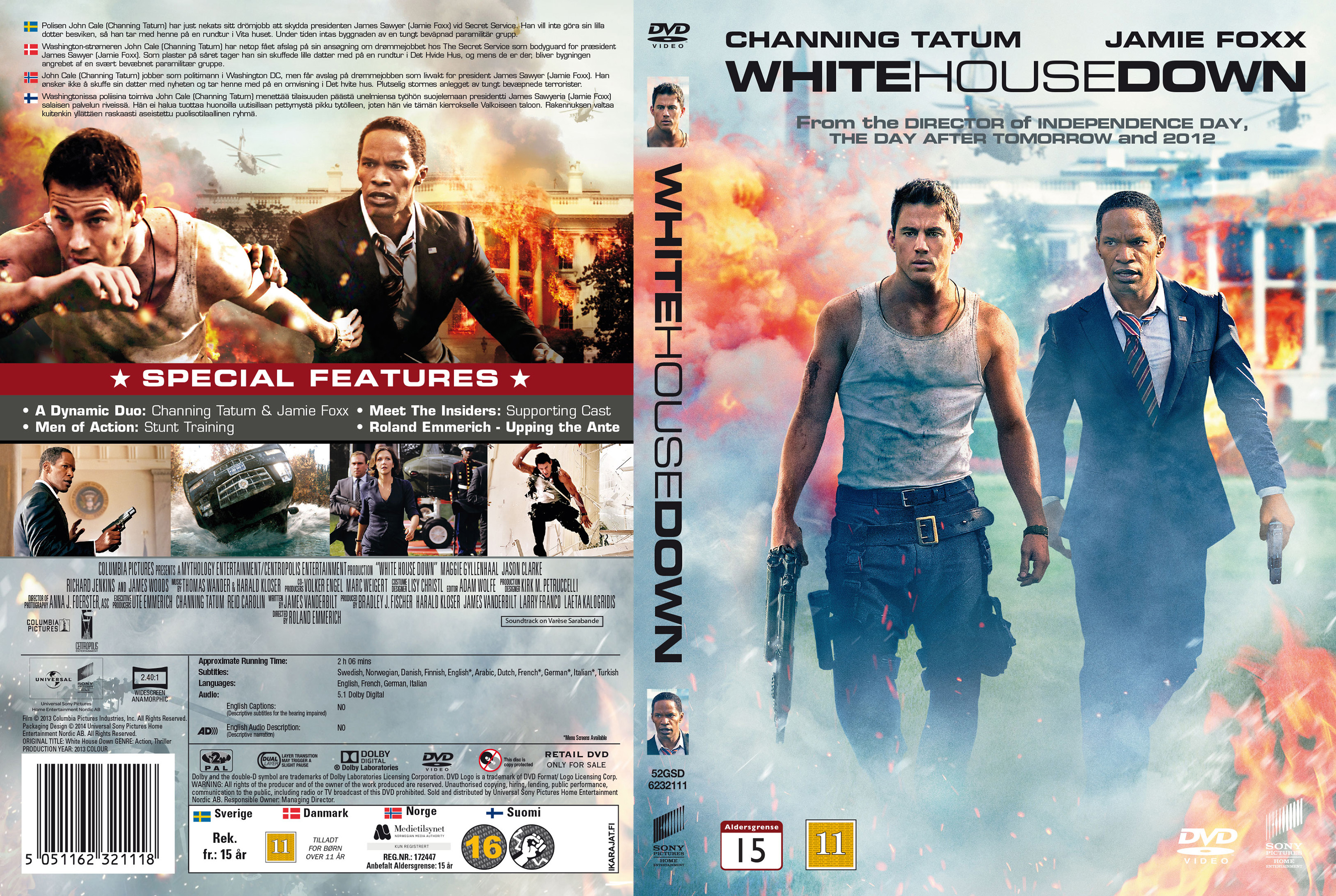 White House Down Dvd COVERS.BOX.SK ::: Whit...