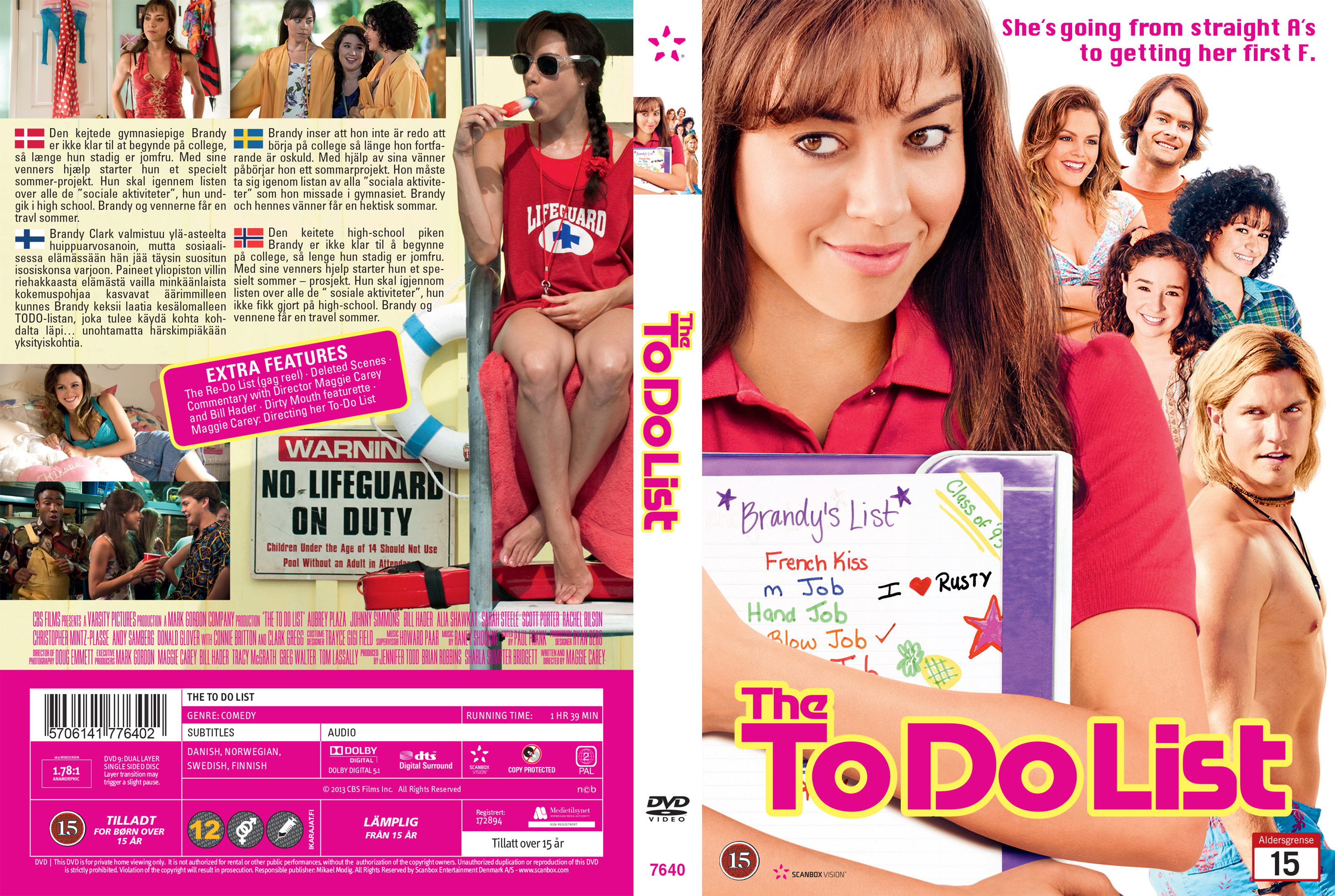 covers.box.sk ::: the to do list (nordic) - high quality dvd