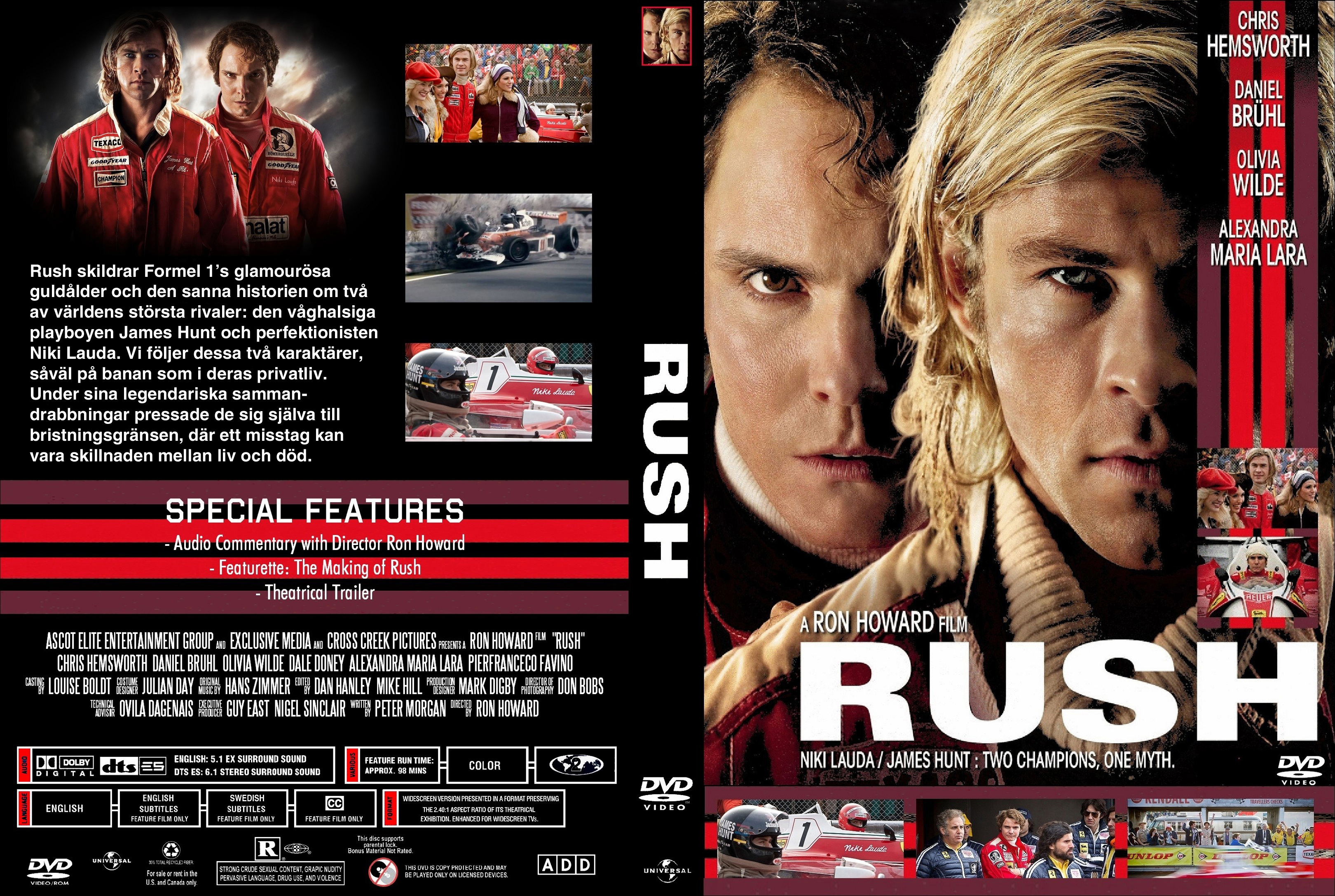 Coversx rush 2013 high quality dvd blueray movie click here for voltagebd Image collections