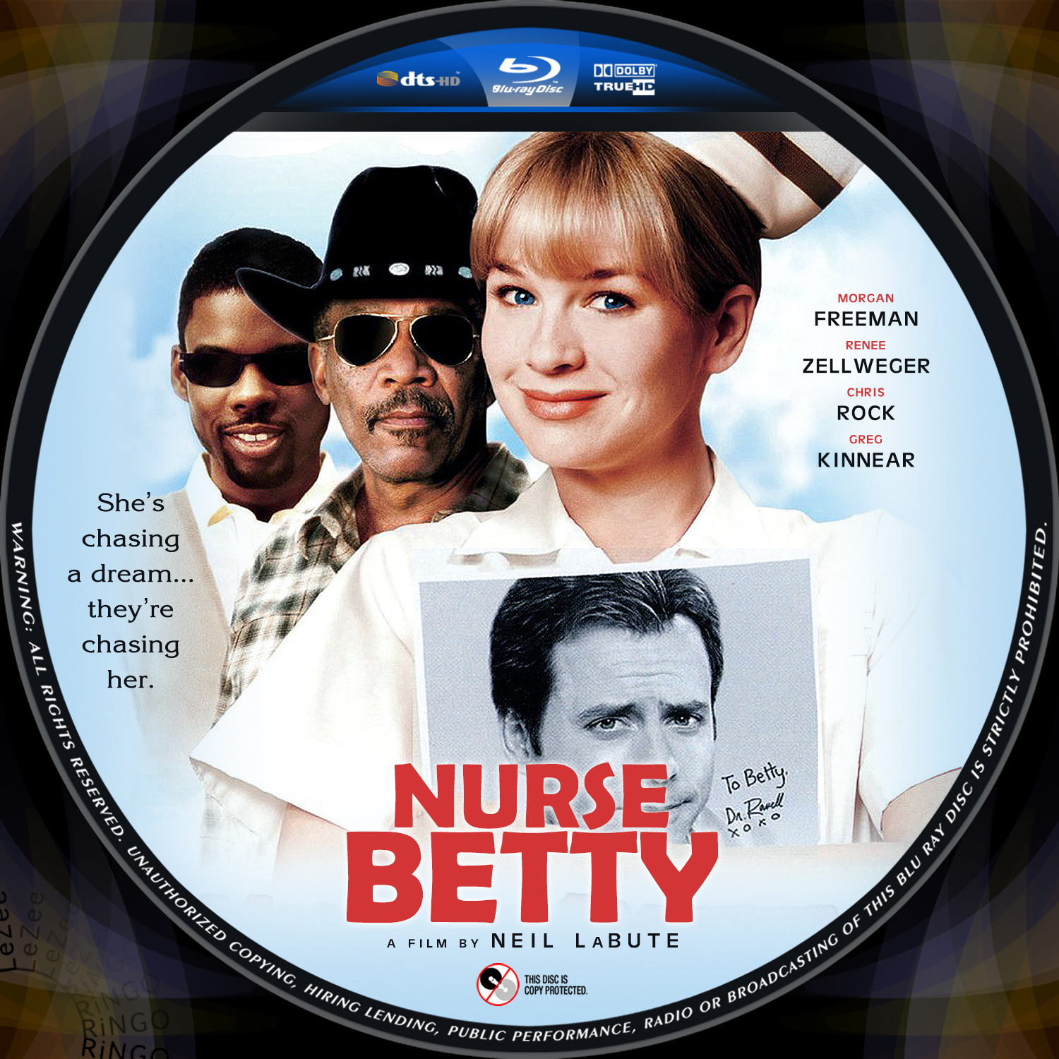 a report of movie nurse betty Nurse betty is a 2000 american black comedy film directed by neil labute and starring renée zellweger as a kansas waitress who suffers a nervous breakdown after witnessing her husband's murder, and starts obsessively pursuing her favorite soap actor (greg kinnear), while in a fugue state.