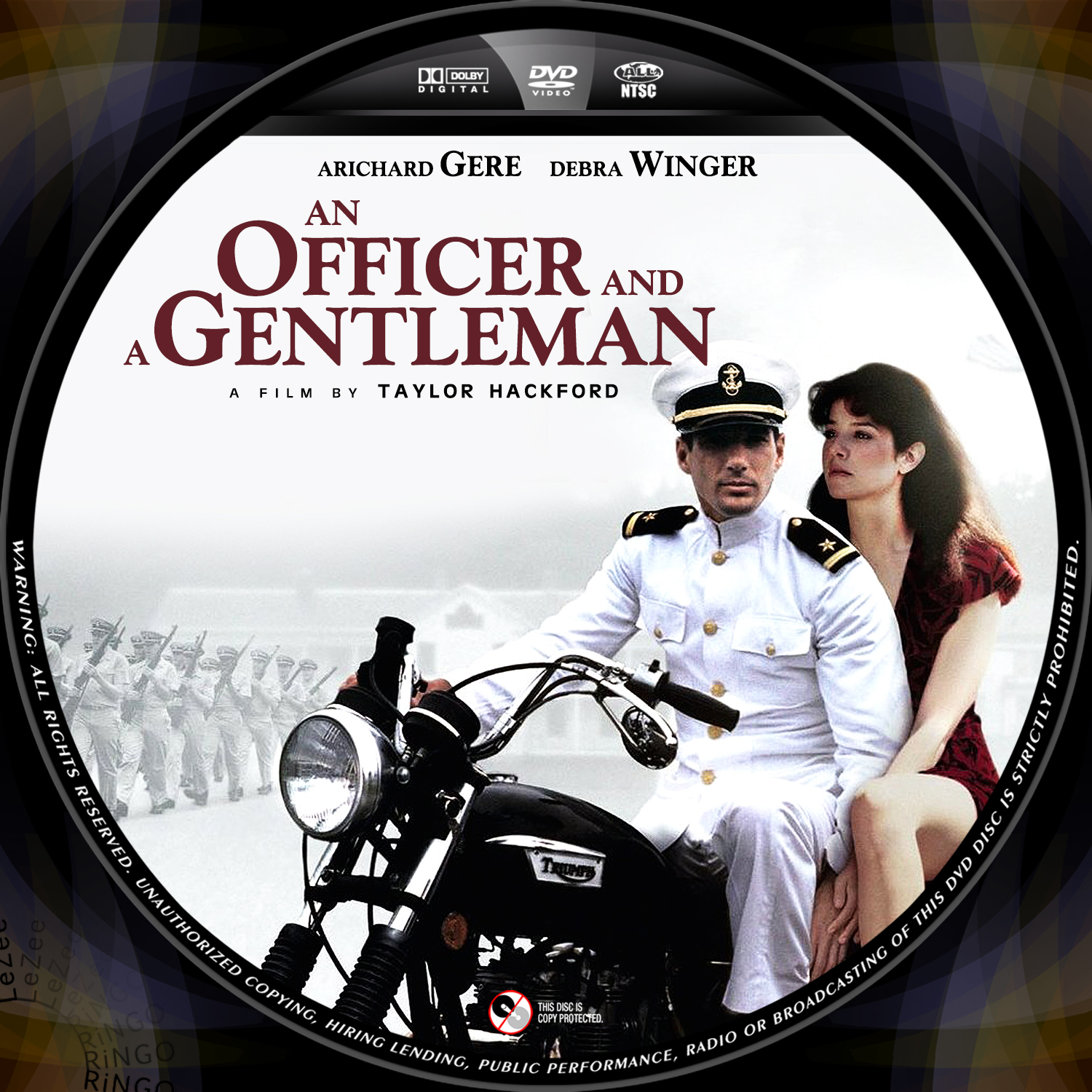 COVERSBOXSK an officer and a gentleman high quality DVD