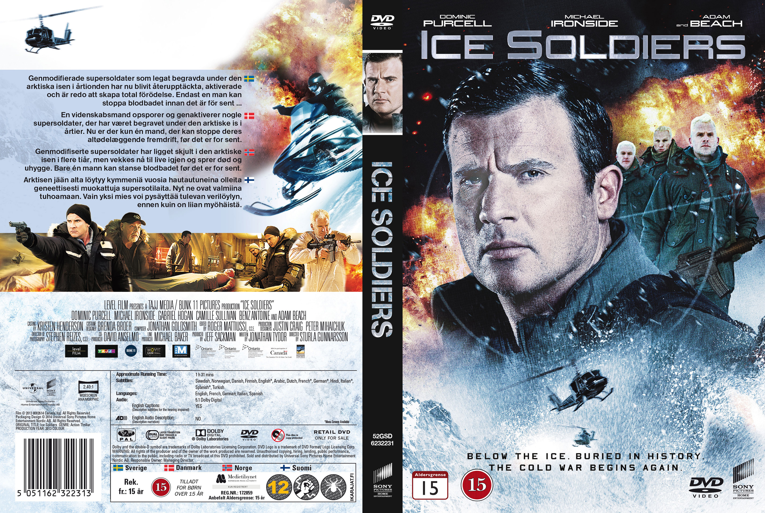 Ice Soldiers 20... Ice Soldiers 2013 Poster