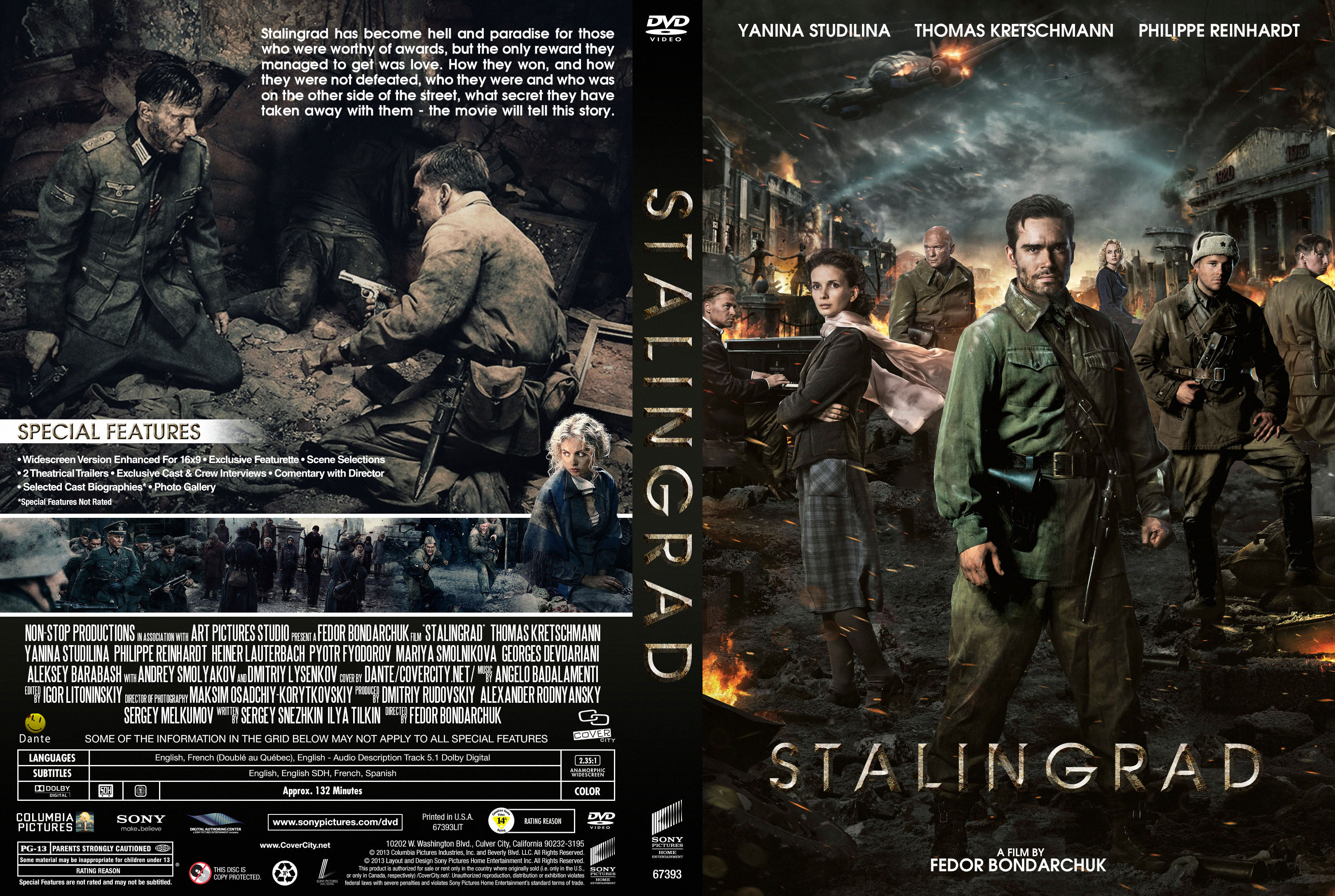 COVERS BOX SK ::: Stalingrad 2013 - high quality DVD / Blueray / Movie