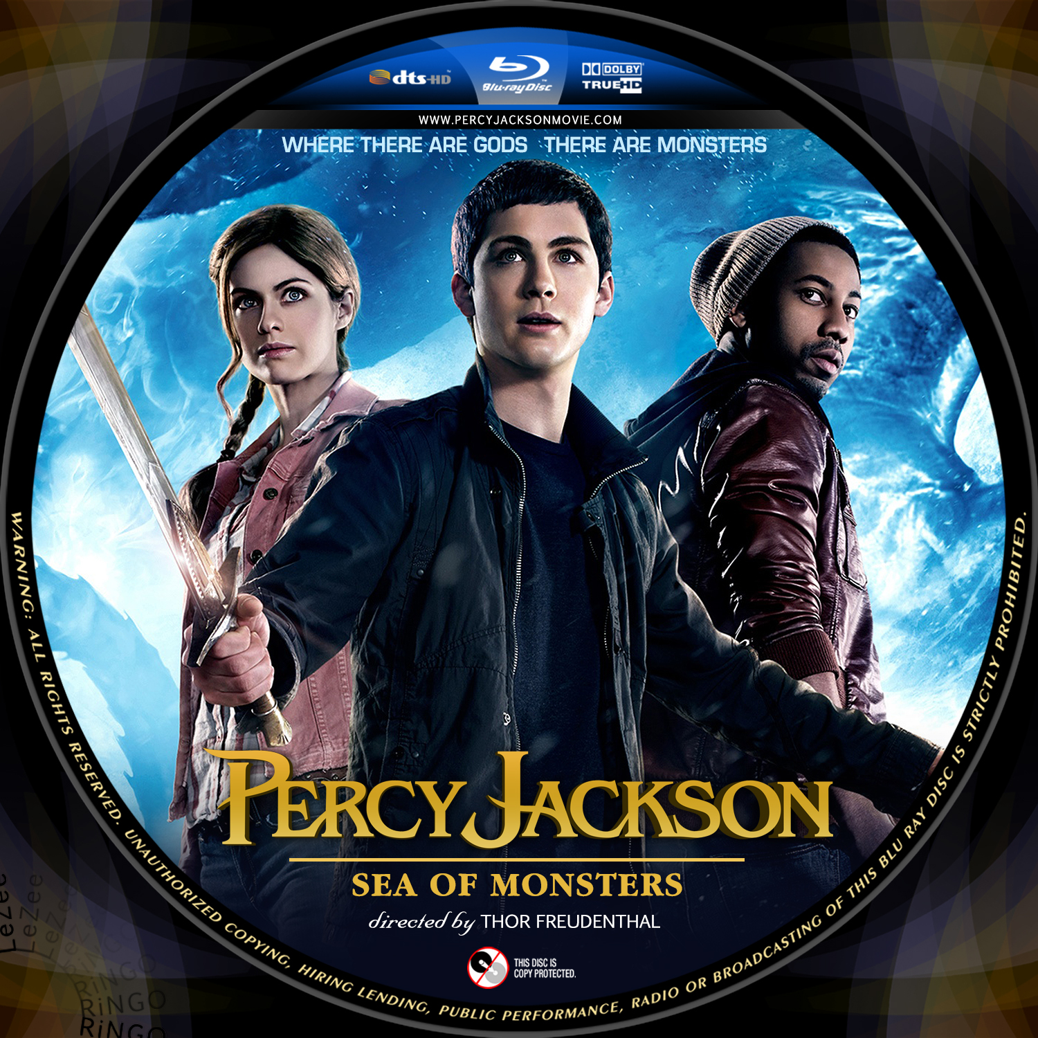 Percy Jackson Sea Of Monsters Cover