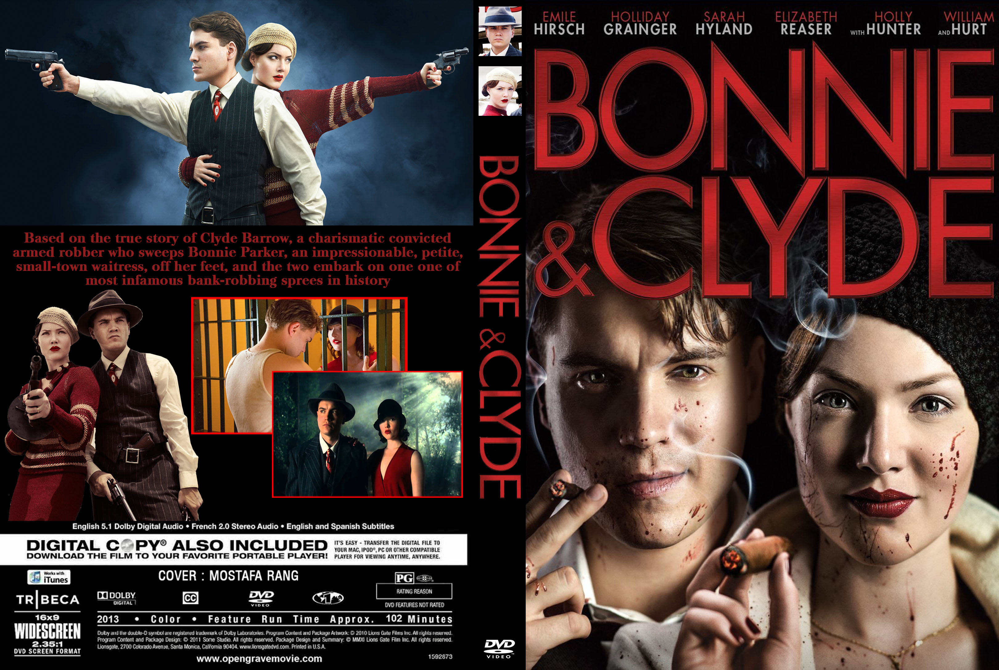 covers box sk bonnie and clyde 2013 high quality dvd