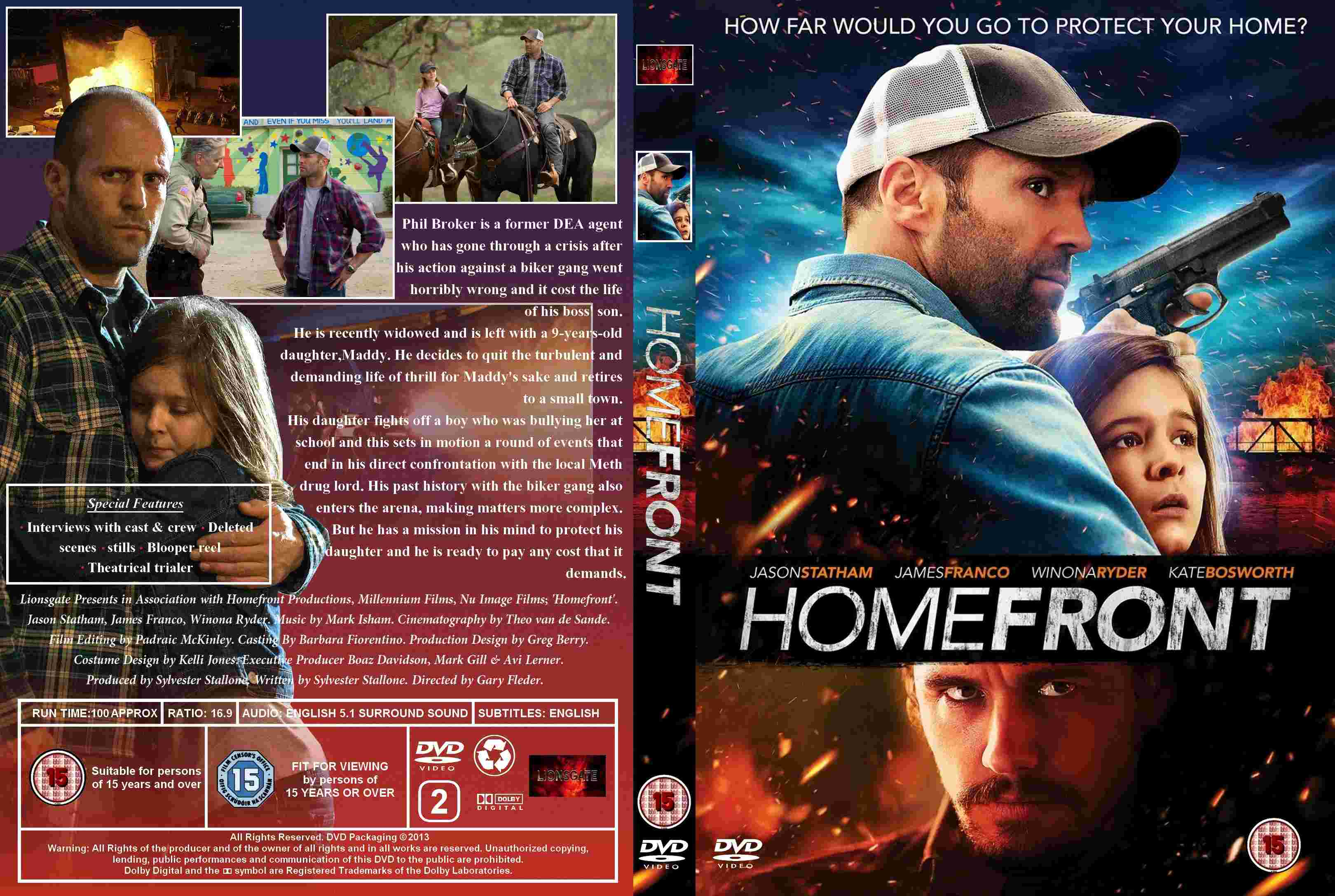 Homefront 2013 Max Back Cover