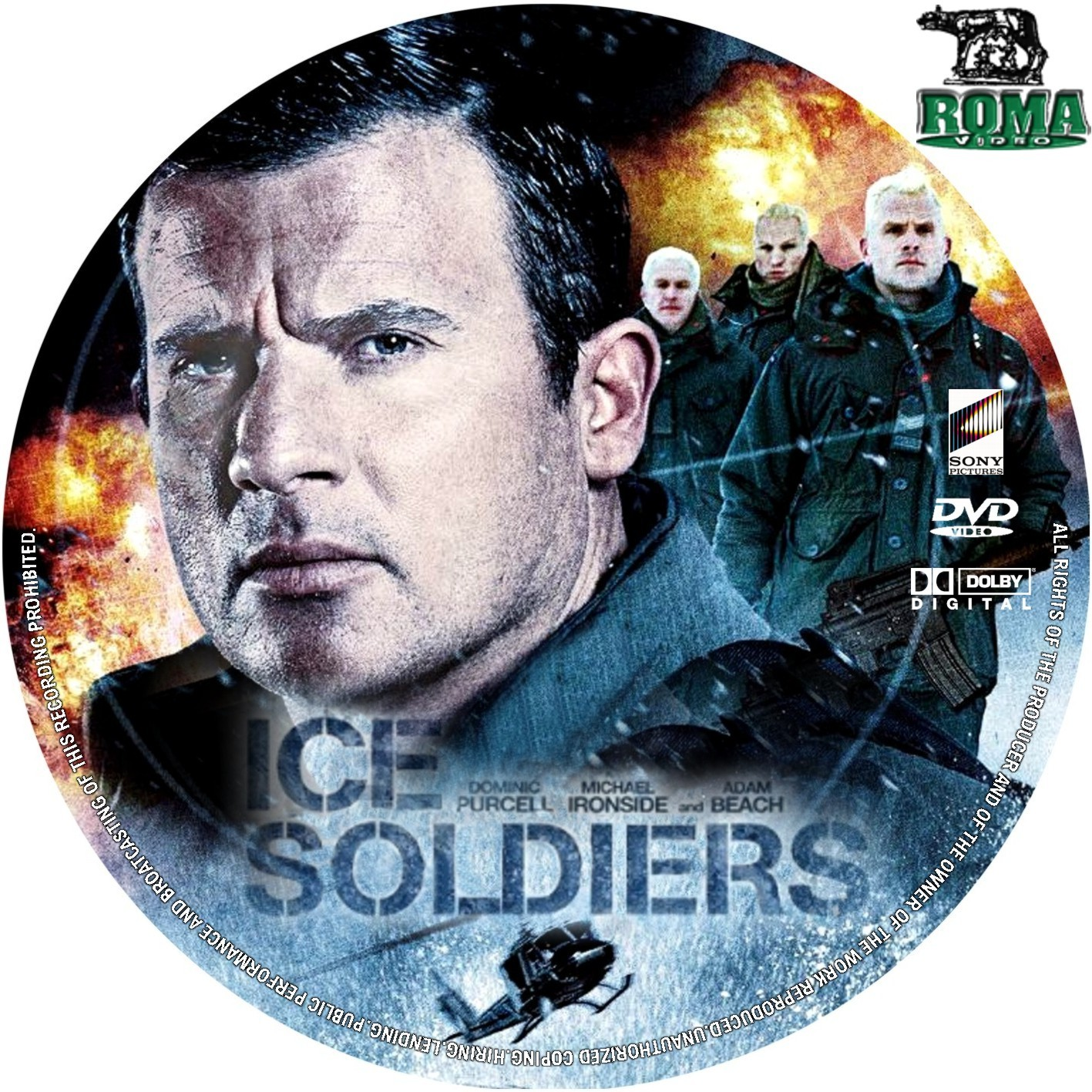 COVERS.BOX.SK Ice Soldiers 2013 Poster