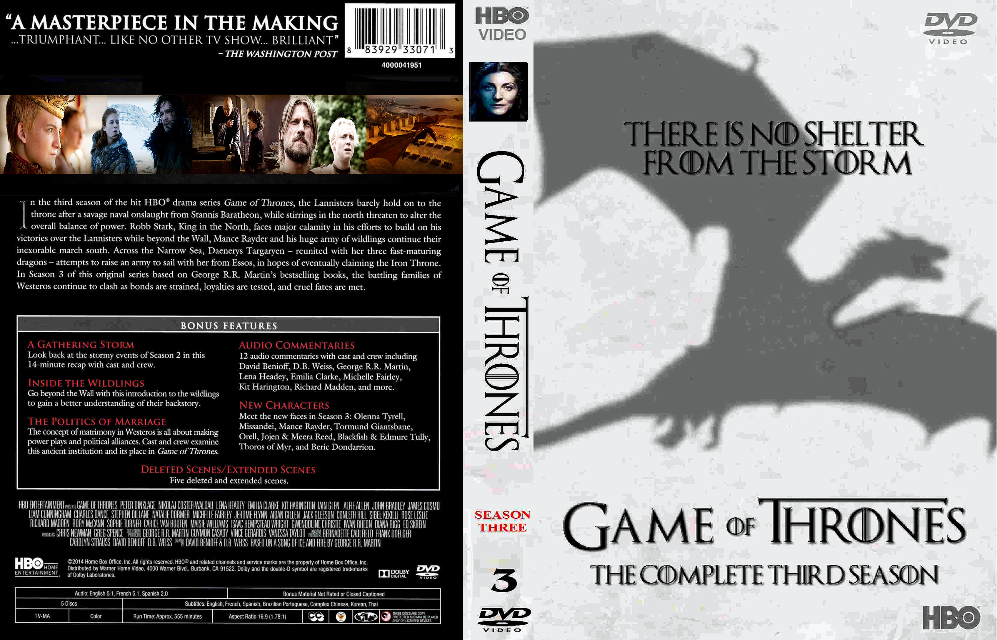 covers box sk game of thrones season 3 high quality. Black Bedroom Furniture Sets. Home Design Ideas