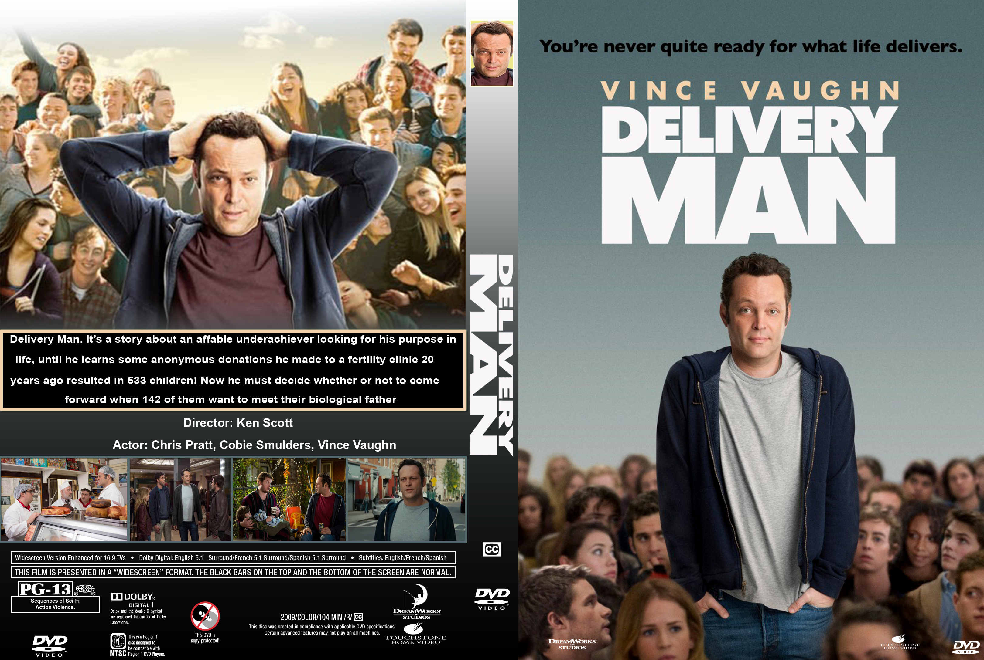 covers box sk delivery man 2013 high quality dvd blueray