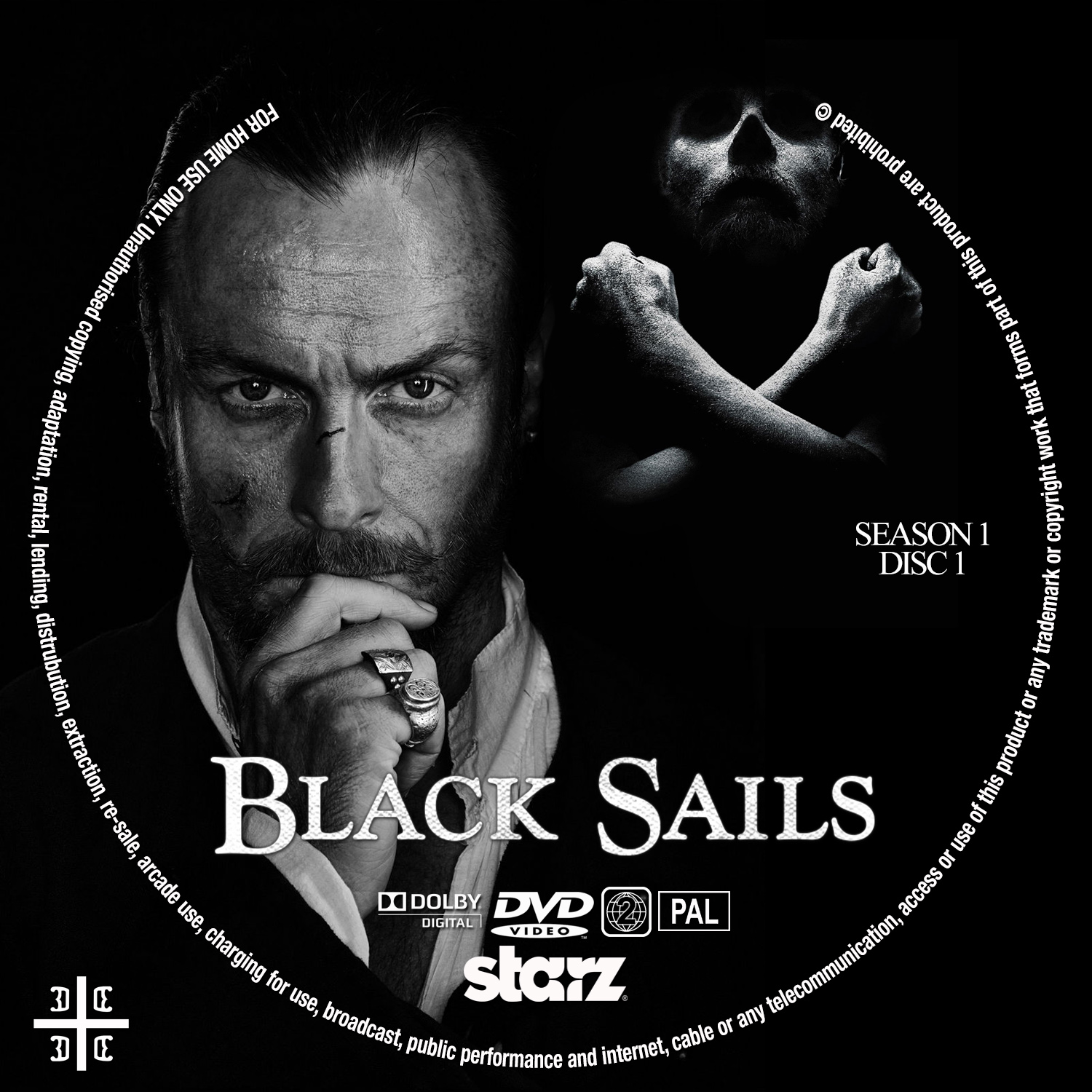 COVERS.BOX.SK ::: black sails - high quality DVD / Blueray ...