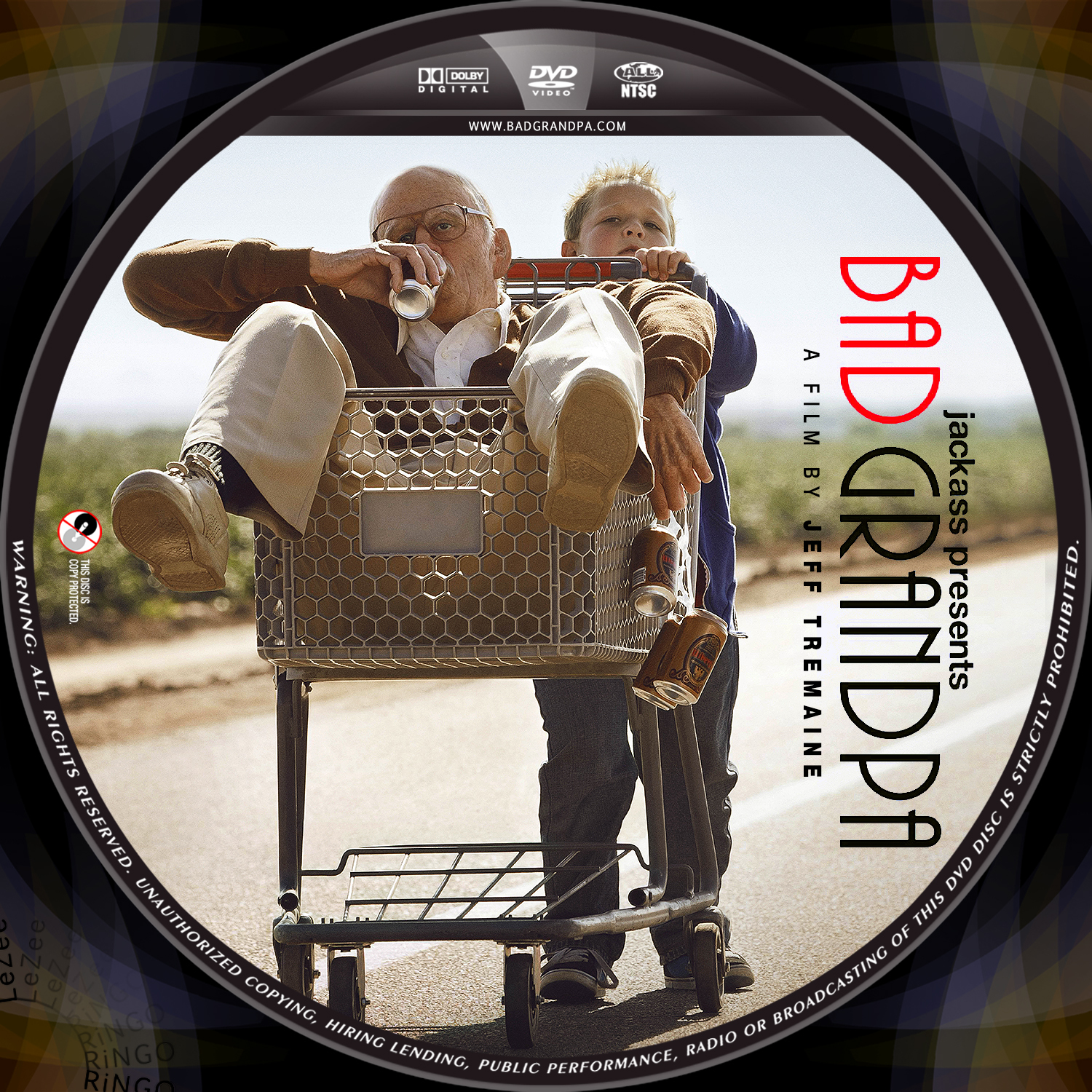 bad grandpa dvd coverBad Grandpa Dvd Cover
