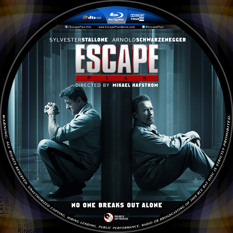 Escape Plan Dvd Label Escape Plan Movie Dvd Cover