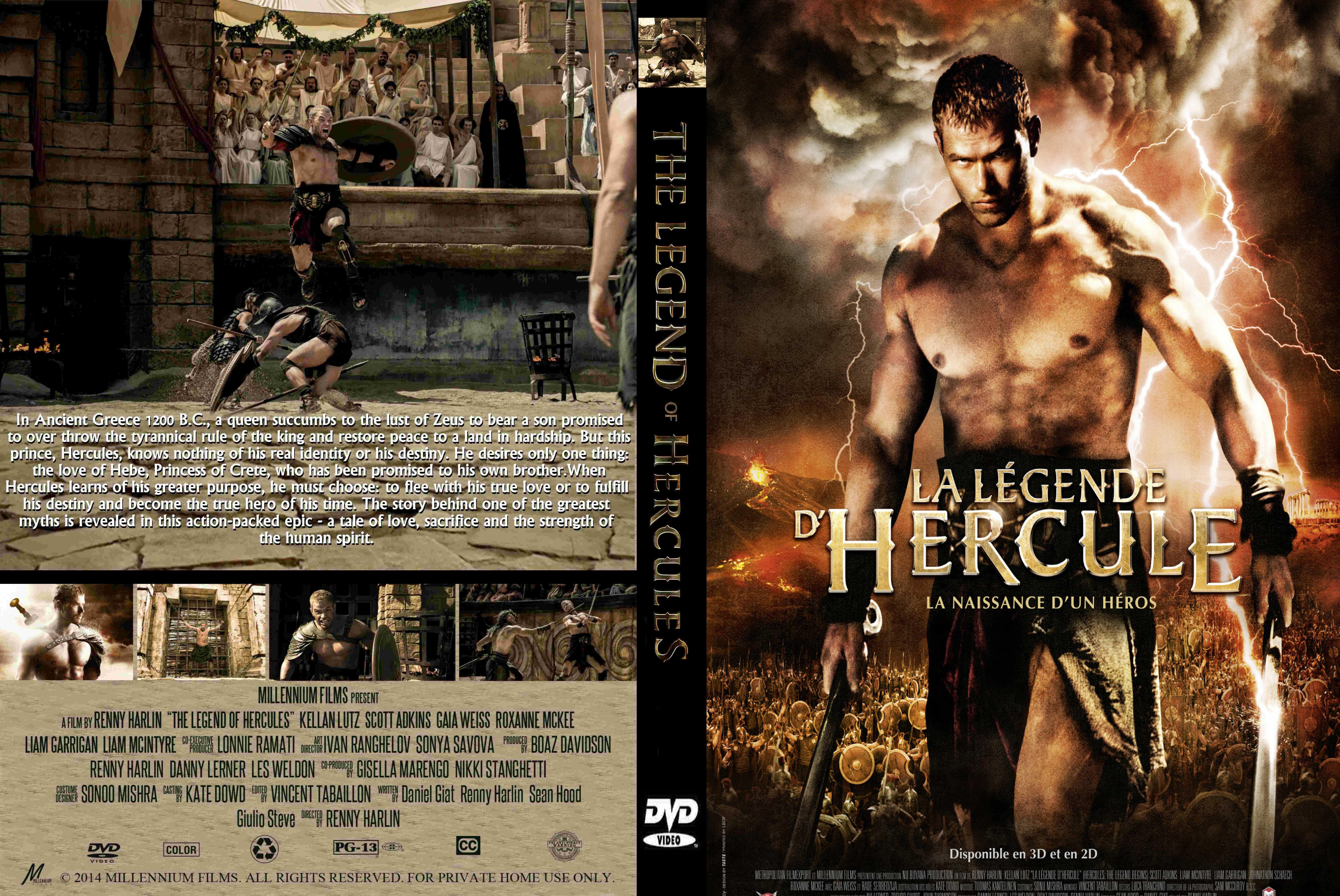 The Legend Of Hercules (2014) Dvd Cover | www.pixshark.com ...