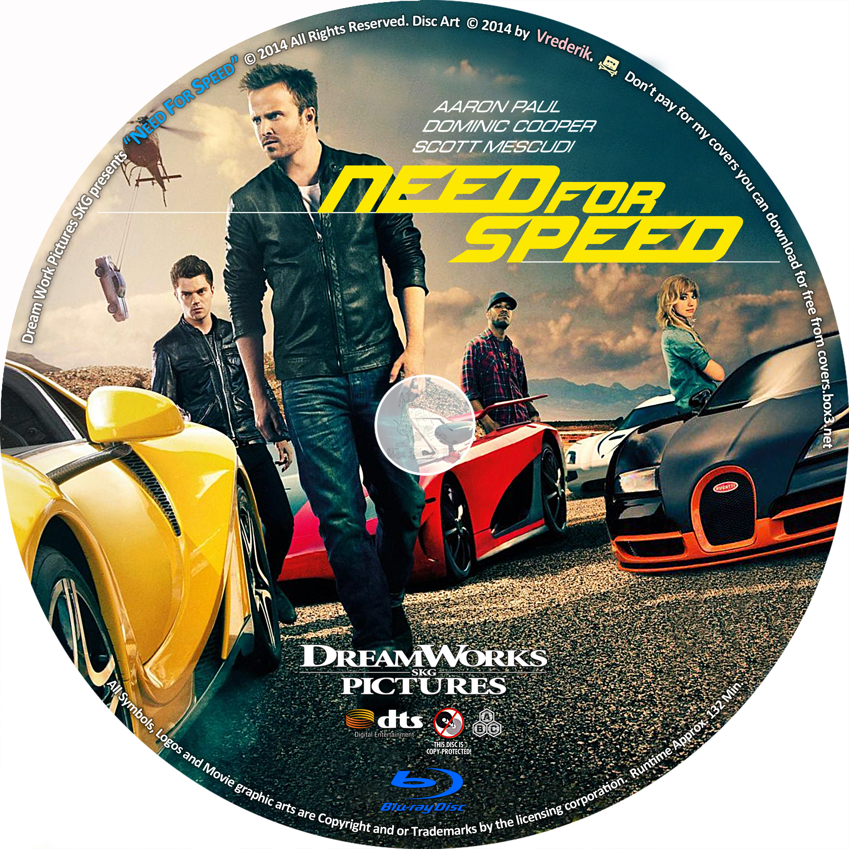 COVERS BOX SK ::: Need For Speed (2014) - high quality DVD