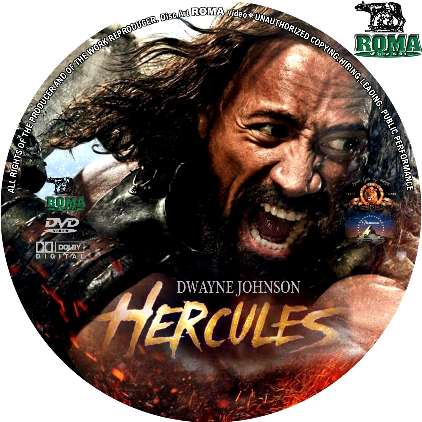 Hercules 2014 Dvd Cover
