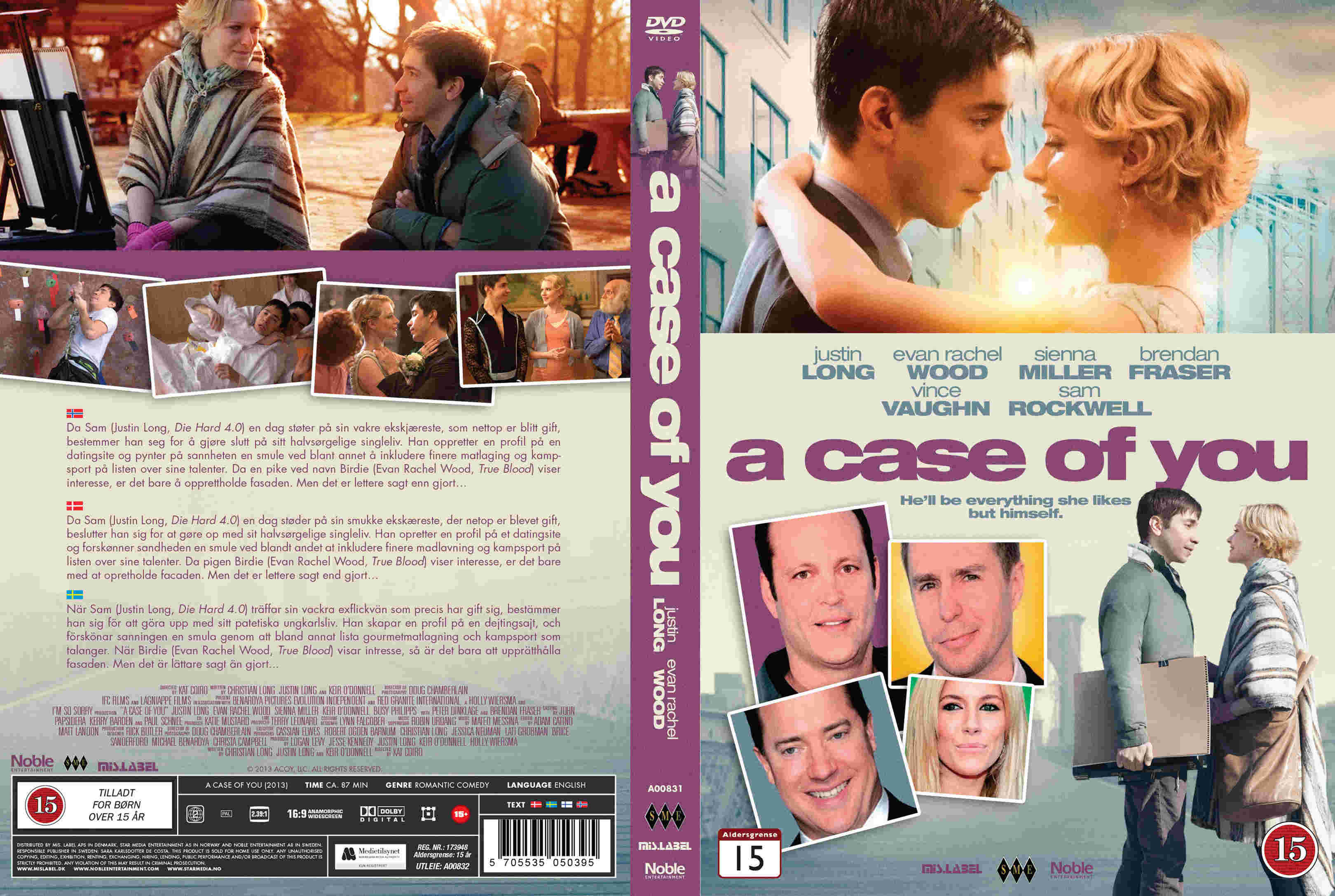Covers Box Sk Case Of You 2013 Nordic High Quality Dvd Blueray Movie