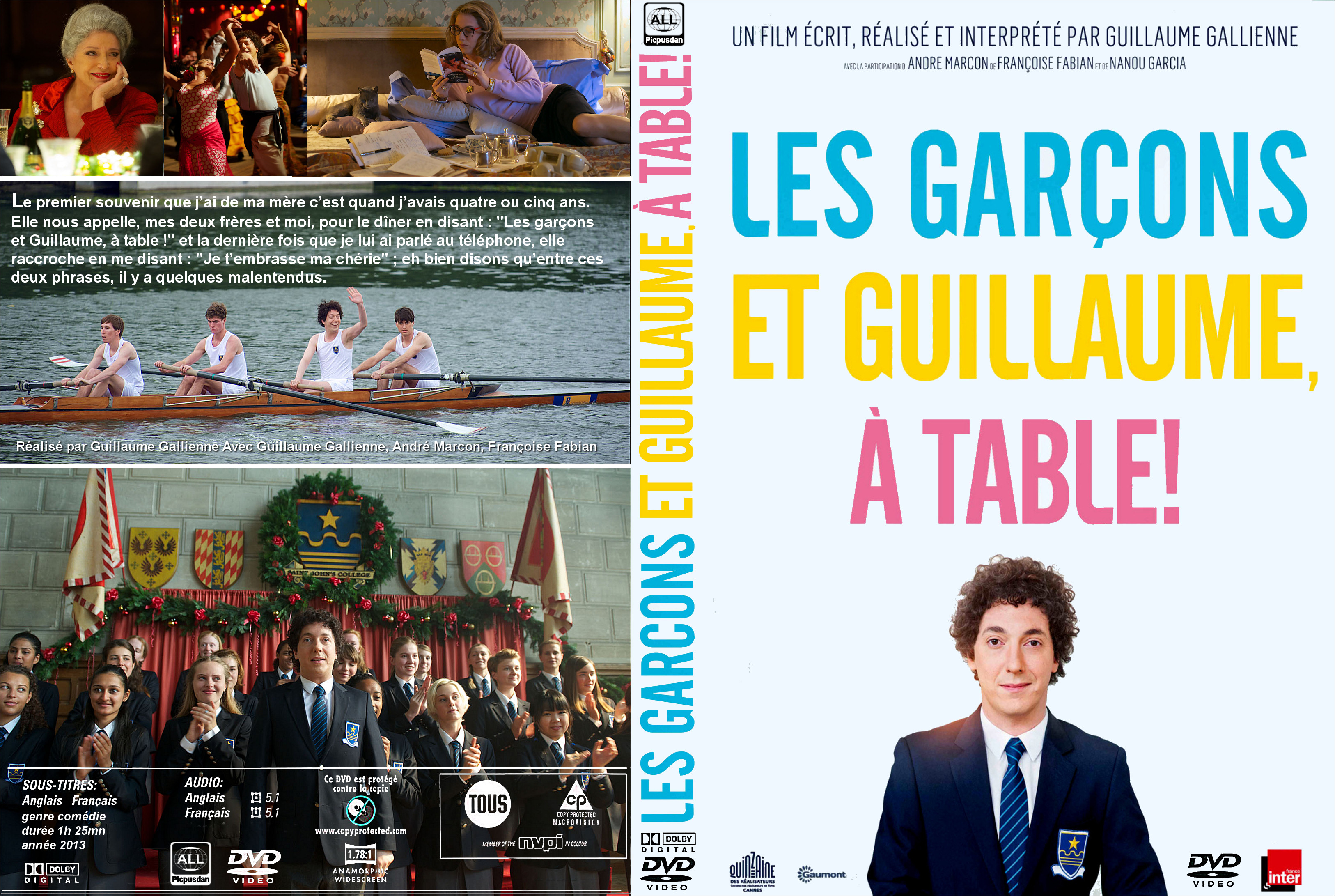 Covers box sk les garcons et guillaume a table 2013 - Guillaume et les garcons a table trailer ...