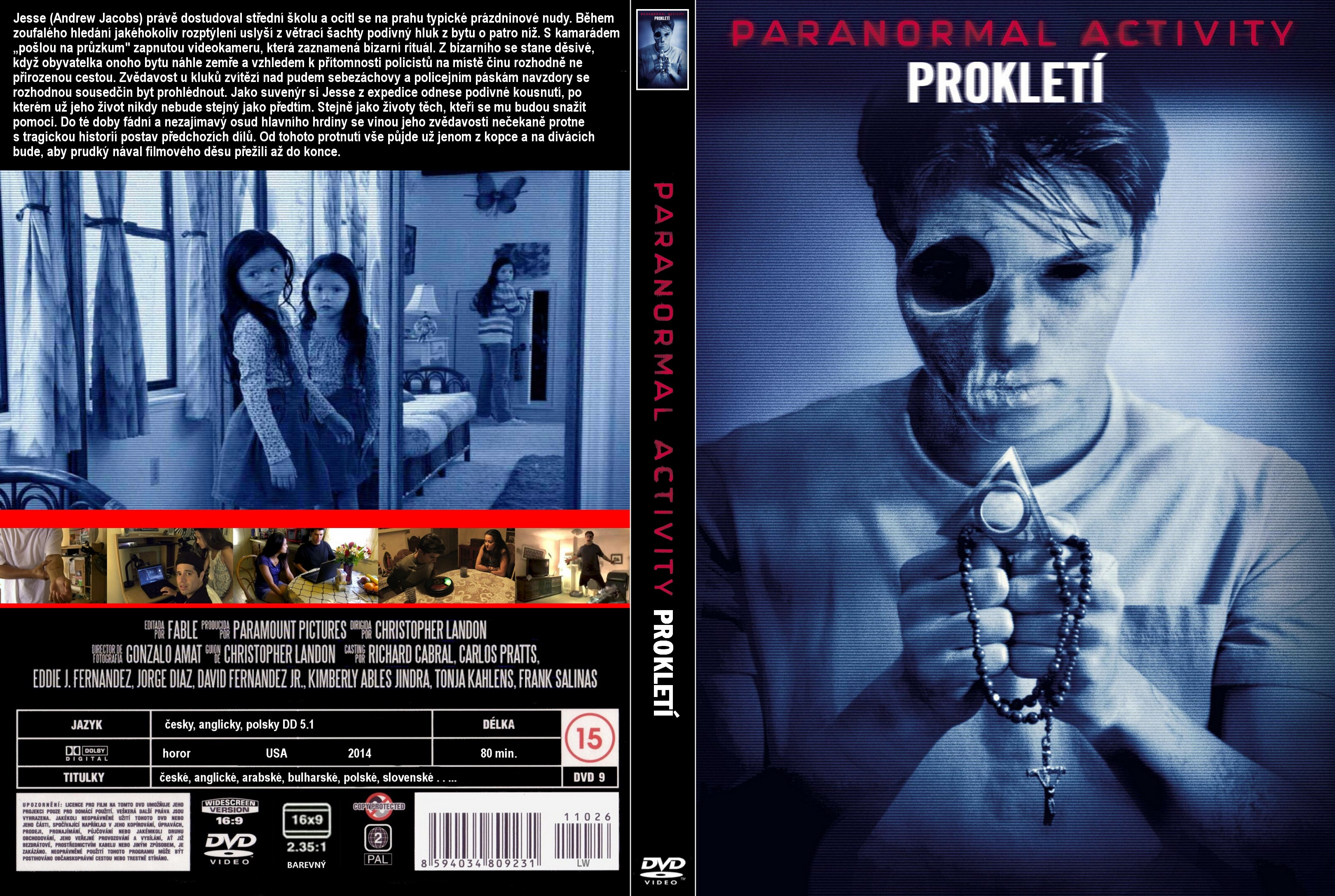 paranormal activity marked ones dvd cover - photo #5