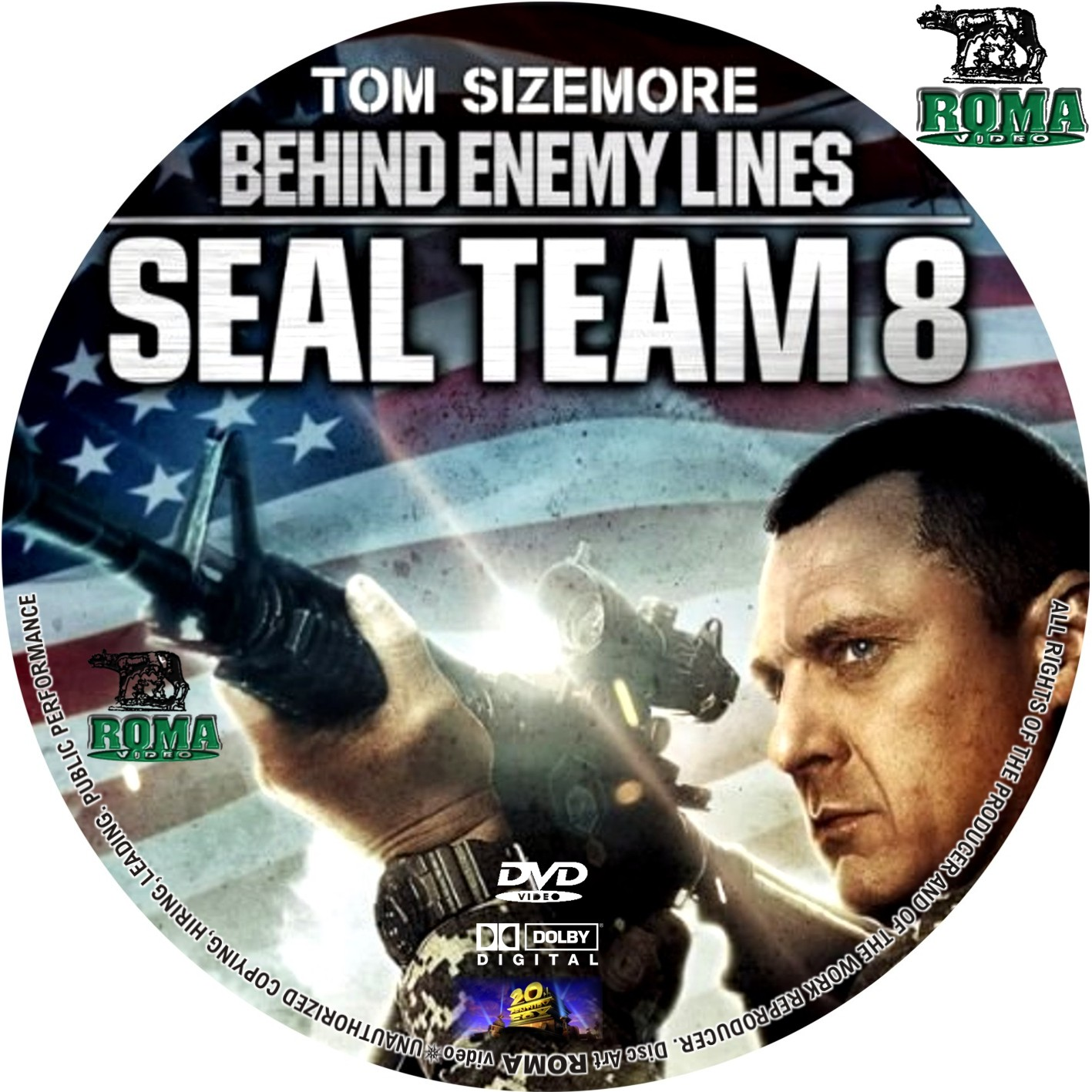 COVERS BOX SK ::: Seal Team Eight: behind enemy lines (2014) - high