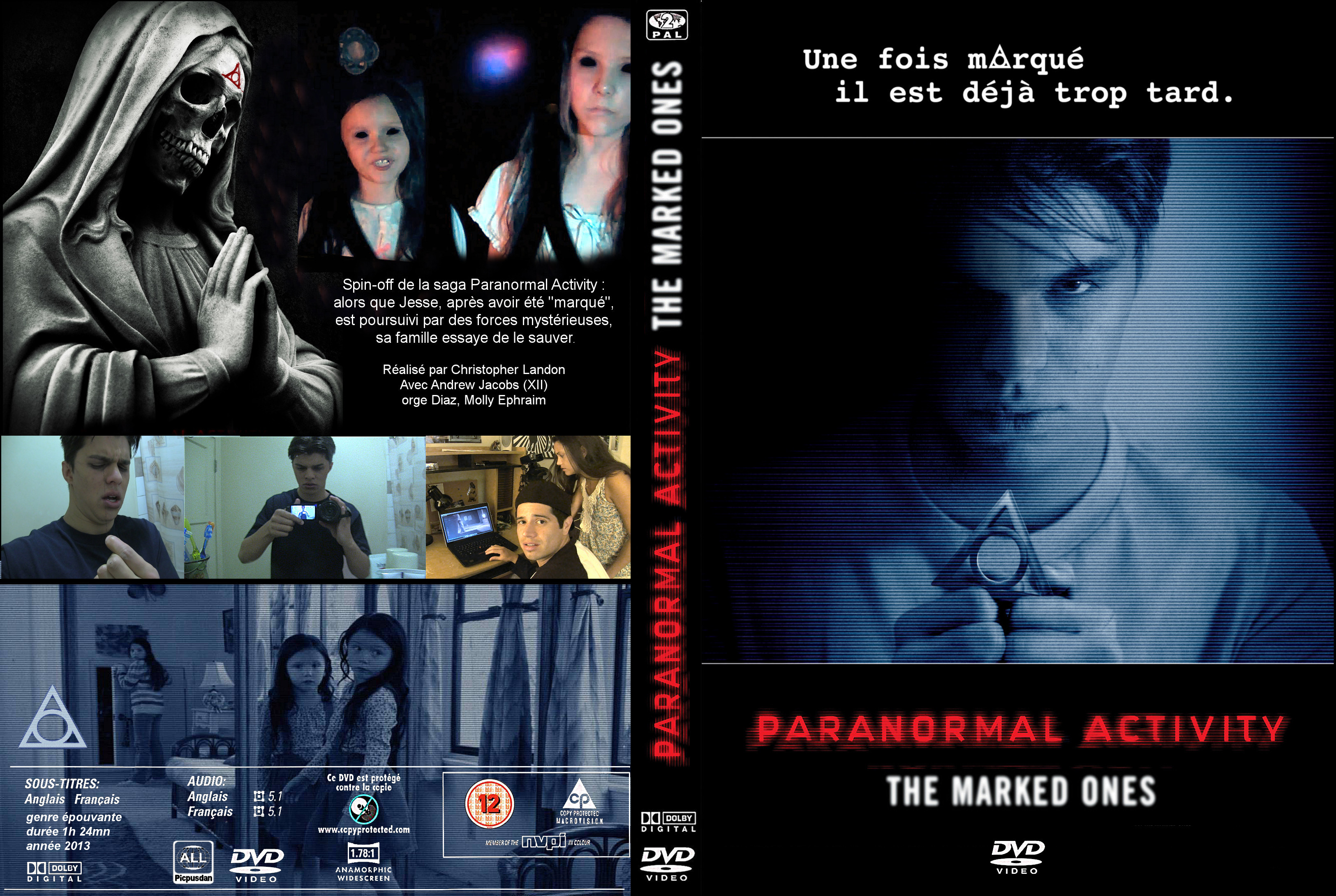 paranormal activity marked ones dvd cover - photo #10